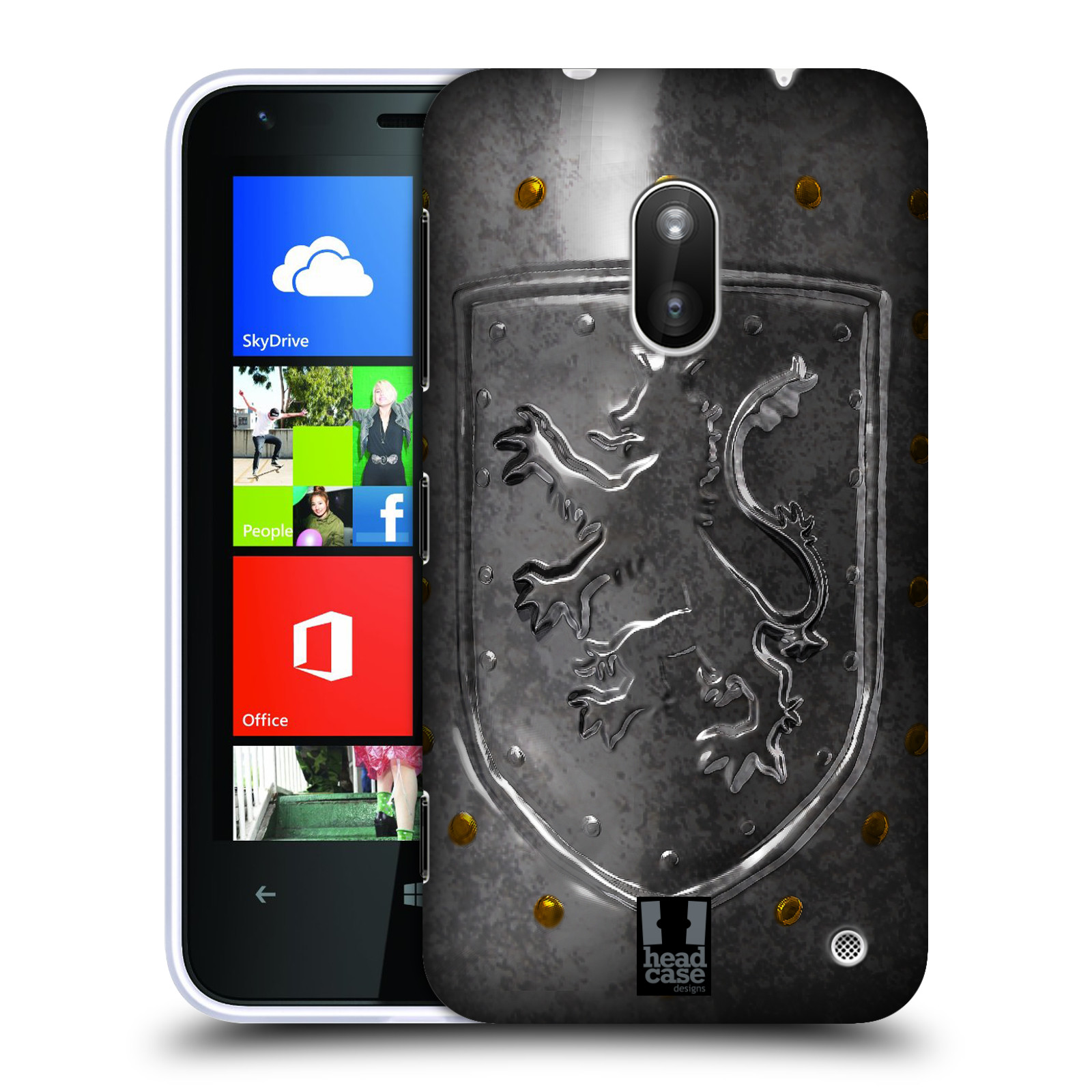 HEAD CASE DESIGNS MEDIEVAL ARMOURY HARD BACK CASE FOR NOKIA LUMIA 620