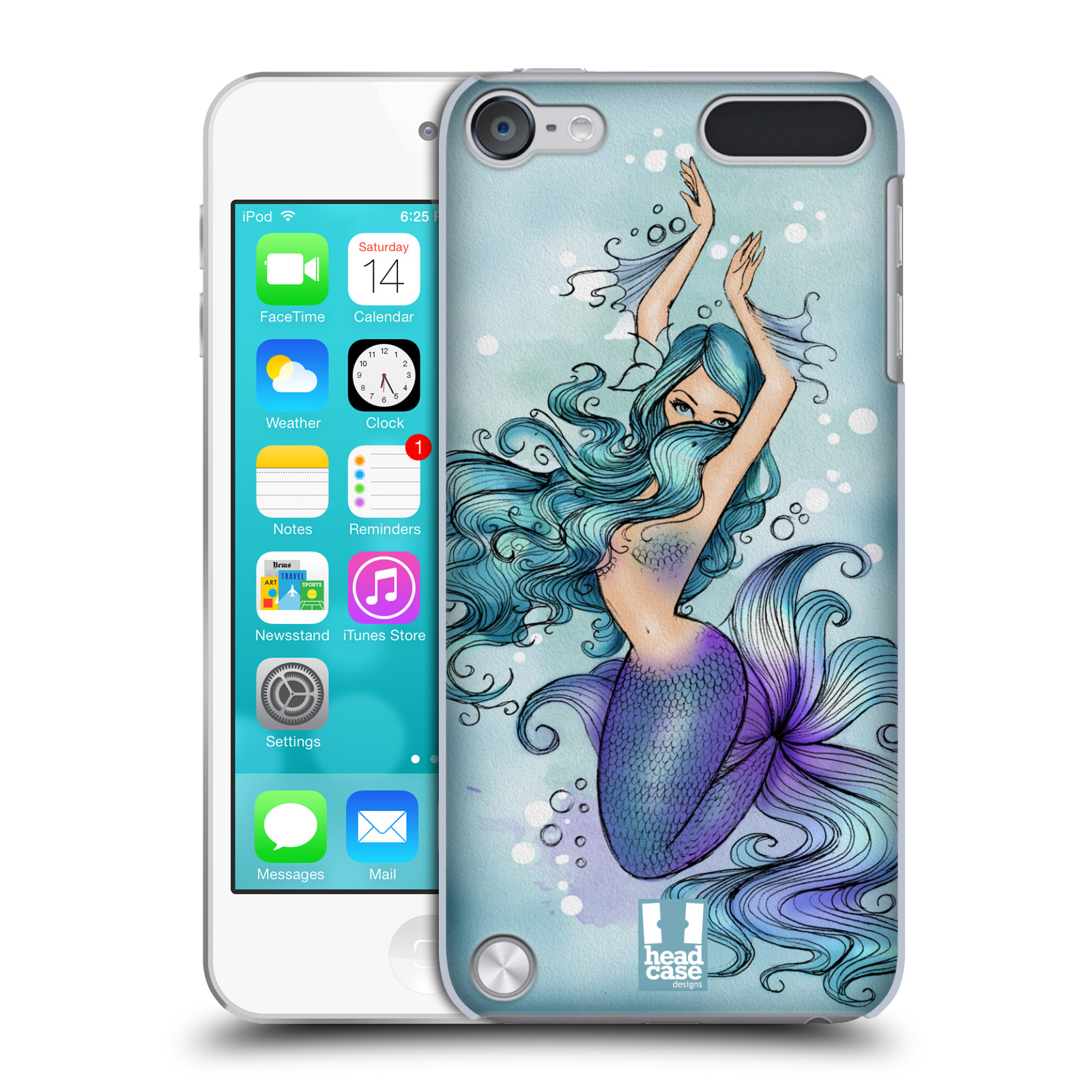 HEAD CASE DESIGNS MERMAIDS CASE COVER FOR APPLE iPOD TOUCH 5G 5TH GEN