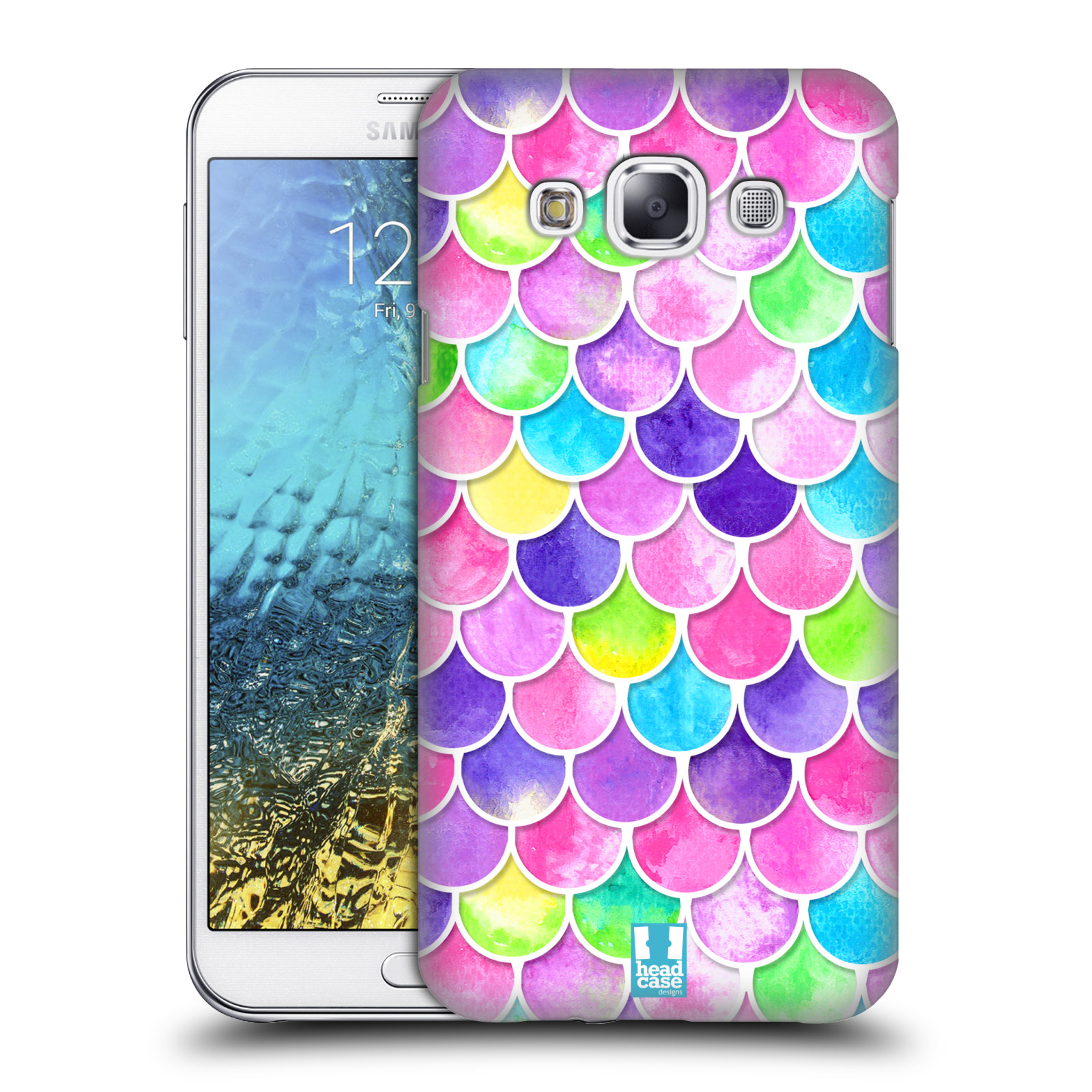 Head case designs mermaid scales hard back case for for Case design