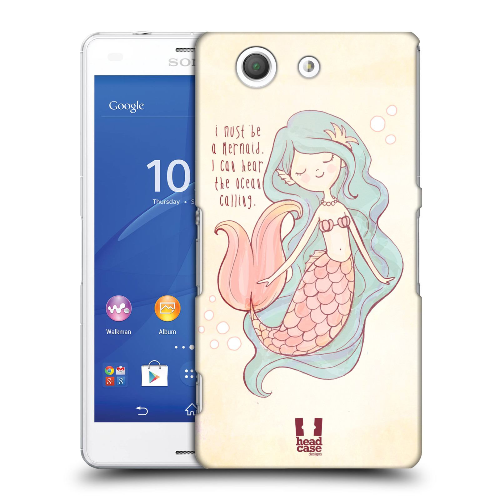 HEAD CASE DESIGNS MY KIND OF SUMMER CASE COVER FOR SONY XPERIA Z3 COMPACT D5833