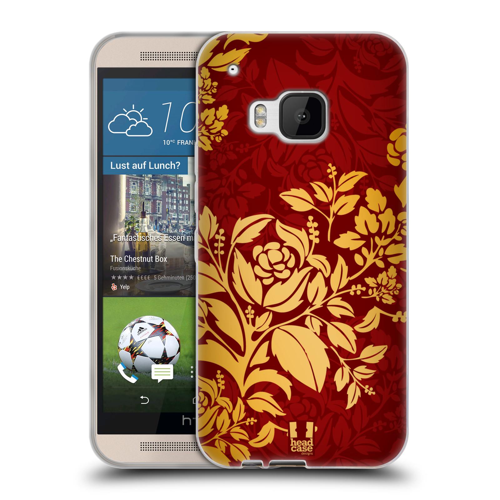 HEAD CASE MODERN BAROQUE SILICONE GEL CASE FOR HTC ONE M9