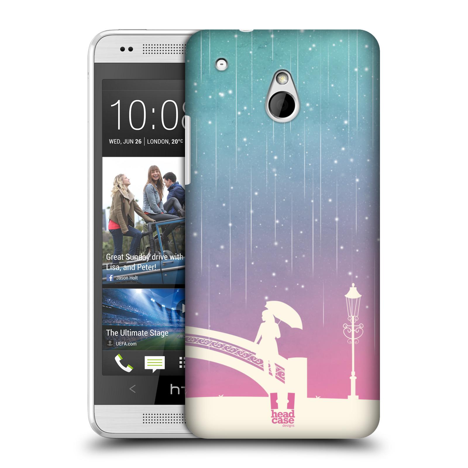HEAD CASE DESIGNS METEOR RAIN OMBRE CASE COVER FOR HTC ONE MINI