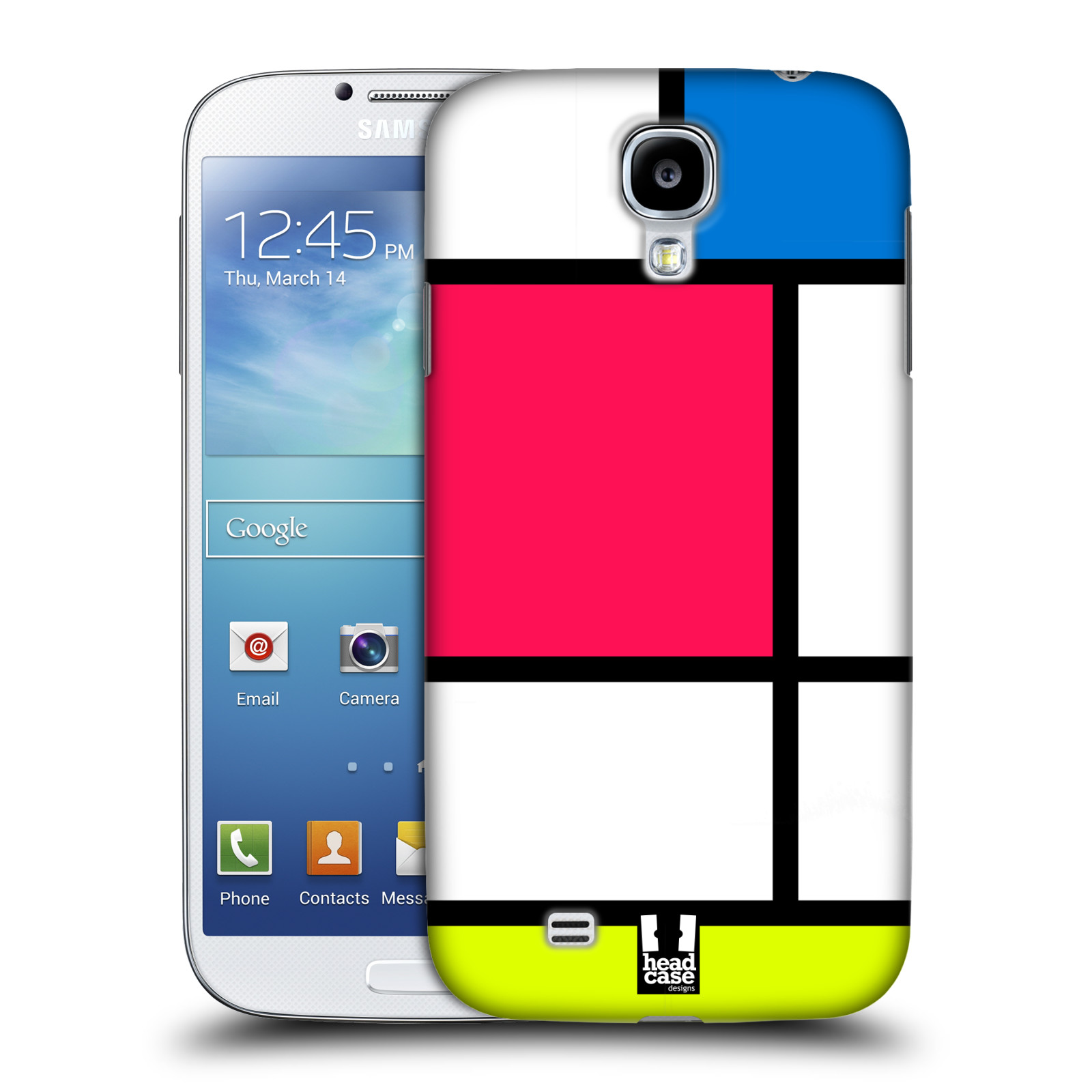 HEAD CASE DESIGNS HUED TILES HARD BACK CASE FOR SAMSUNG GALAXY S4 I9500
