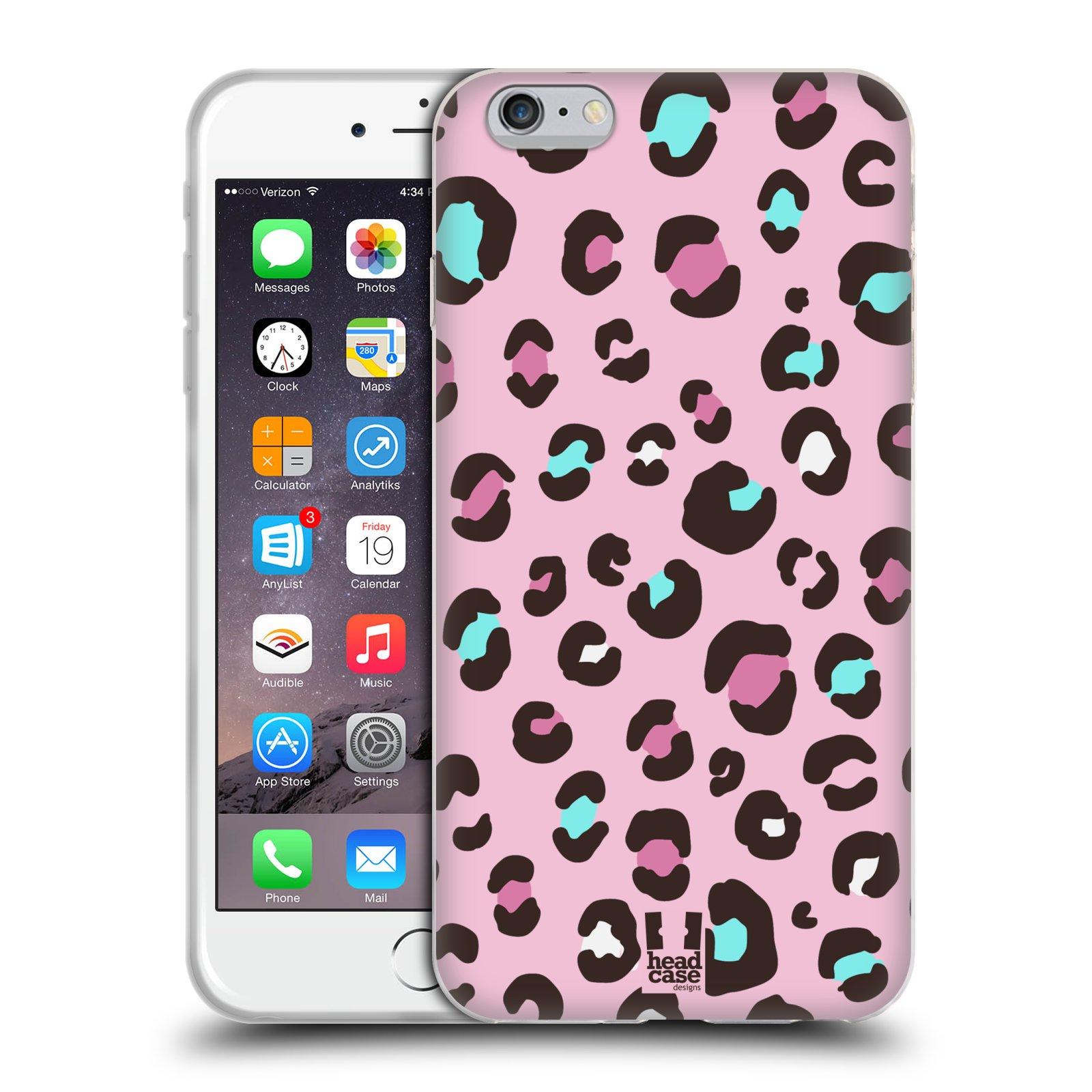 HEAD CASE silikonový obal na mobil Apple Iphone 6 PLUS/ 6S PLUS vzor Divočina zvíře 2 růžový MIX