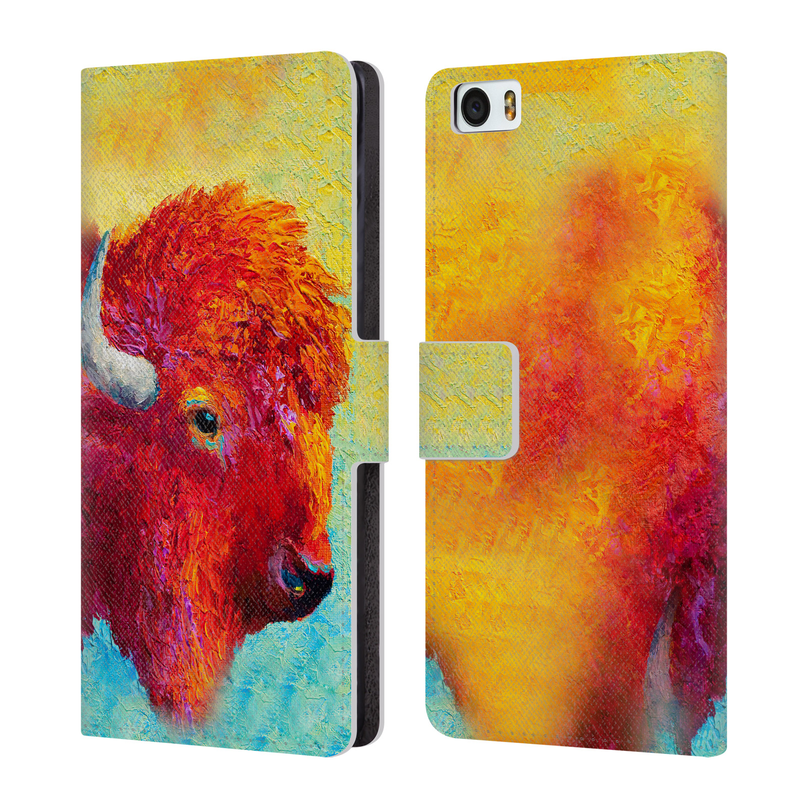 OFFICIAL-MARION-ROSE-BULL-LEATHER-BOOK-WALLET-CASE-COVER-FOR-XIAOMI-PHONES