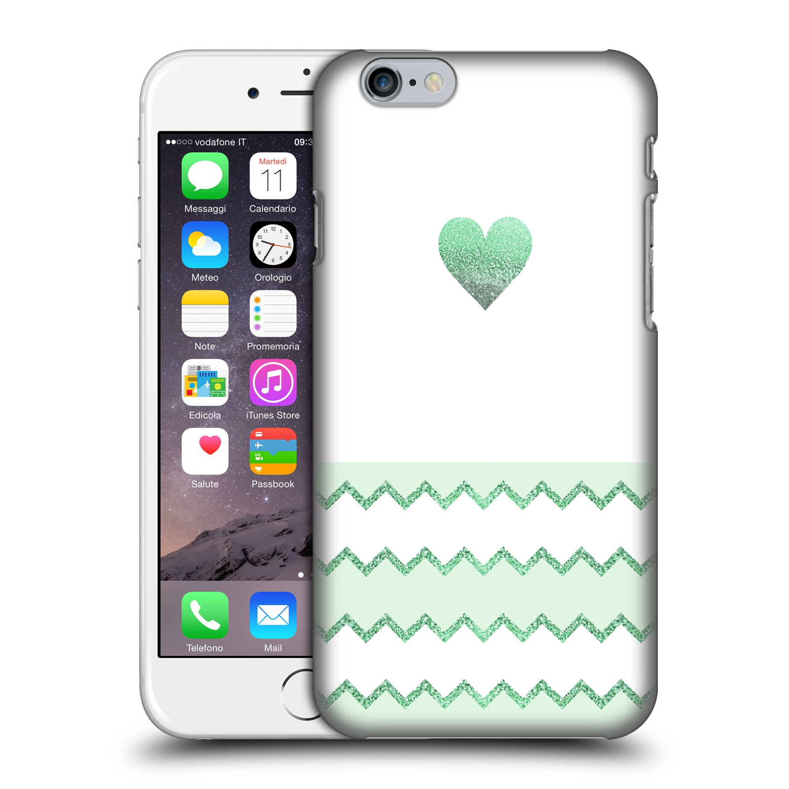 Monika Strigel Avalon Heart-Green