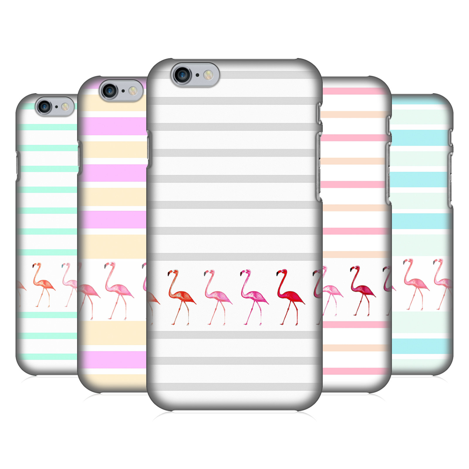 Monika Strigel Flamingos And Stripes