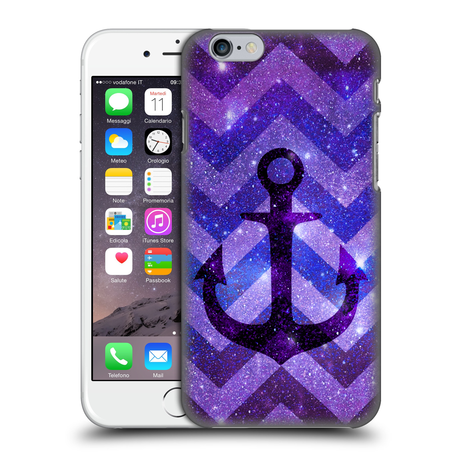 Monika Strigel Galaxy Anchors-Purple