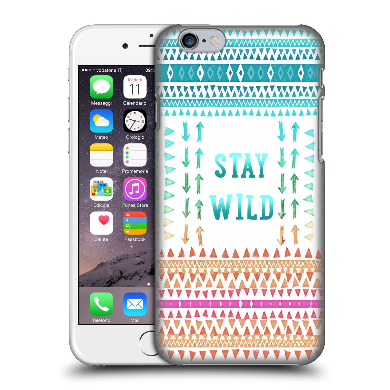 Monika Strigel Happy Quote-Stay Wild