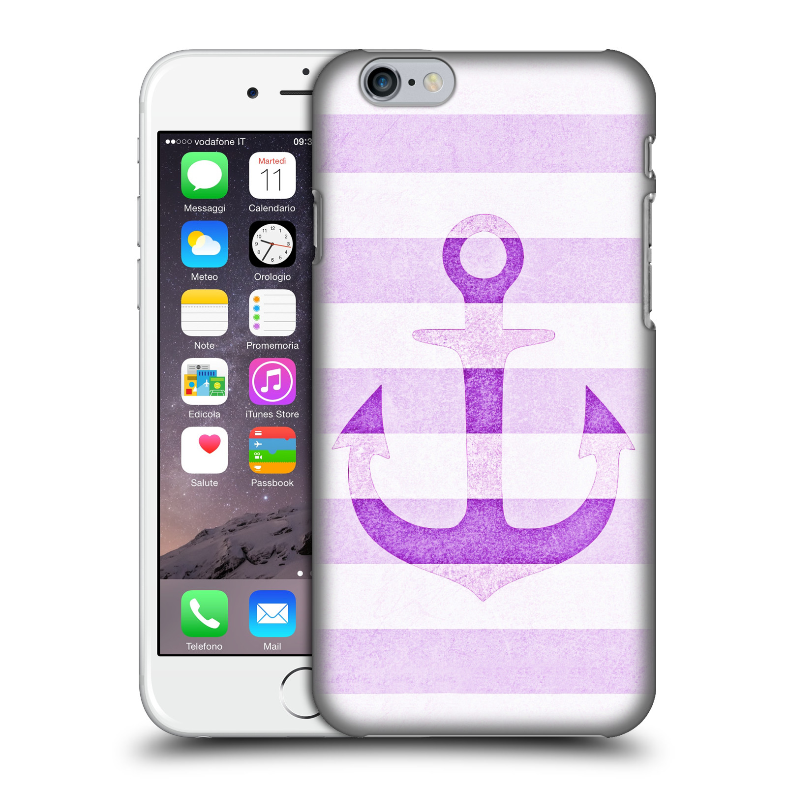 Monika Strigel Vintage Anchors-Lavender