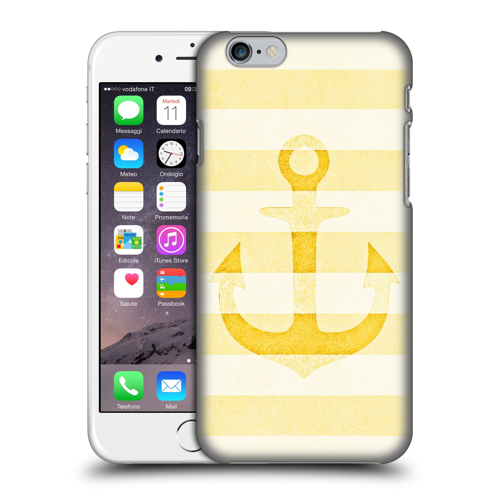 Monika Strigel Vintage Anchors-Yellow