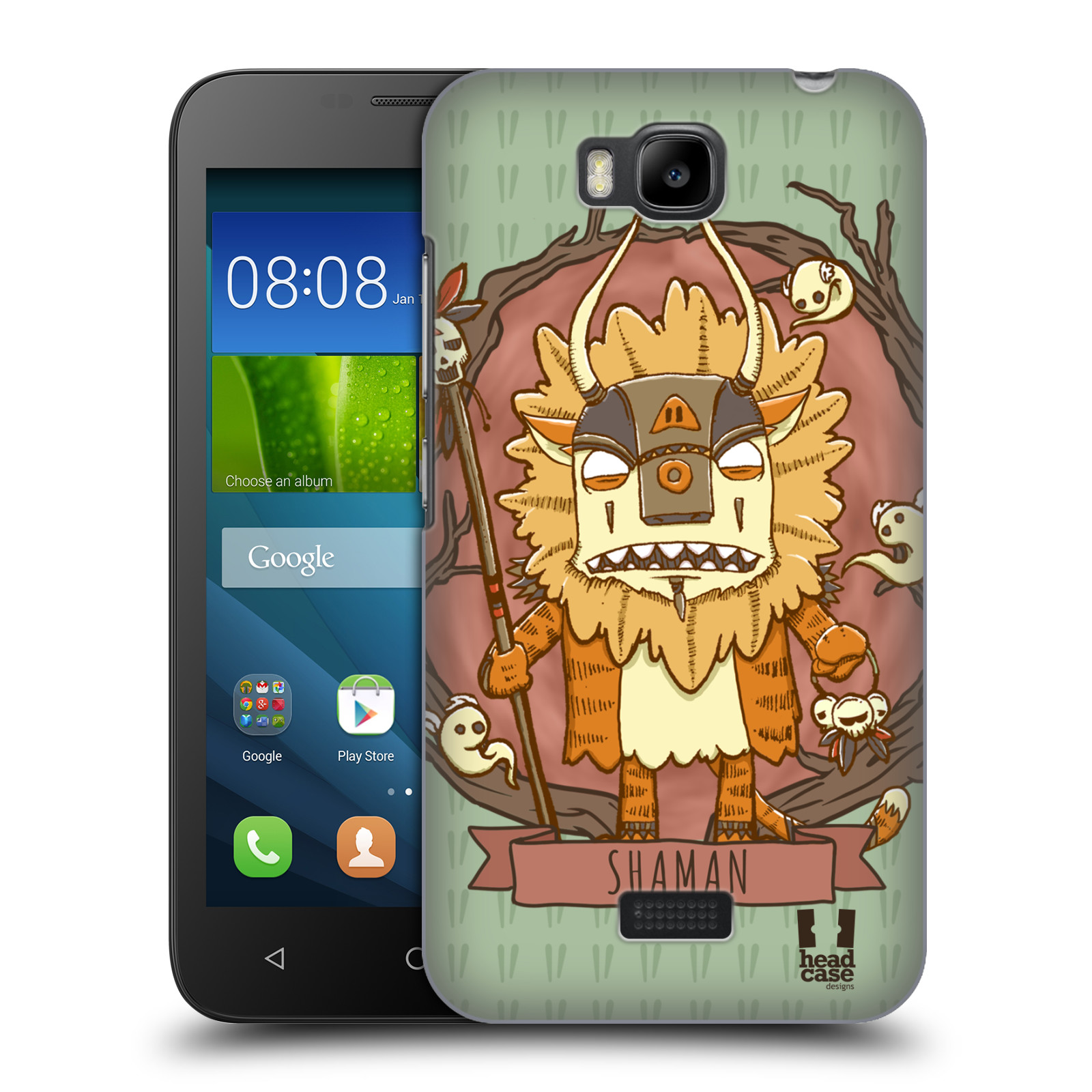 HEAD-CASE-DESIGNS-NATIVE-CREATURES-HARD-BACK-CASE-FOR-HUAWEI-PHONES-2