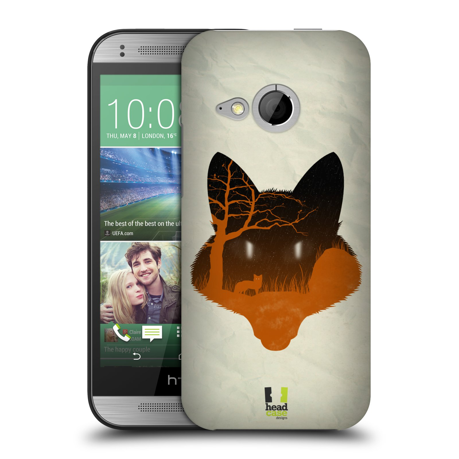 HEAD CASE NATURE OF ANIMALS BACK CASE FOR HTC ONE MINI 2