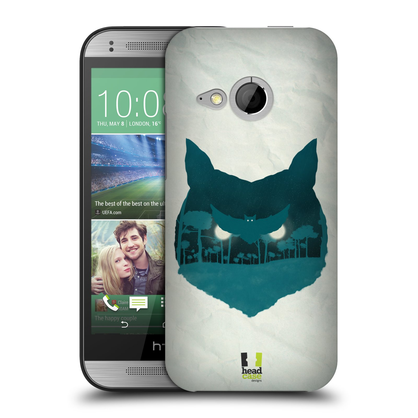 HEAD CASE DESIGNS NATURE OF ANIMALS HARD BACK CASE FOR HTC ONE MINI 2