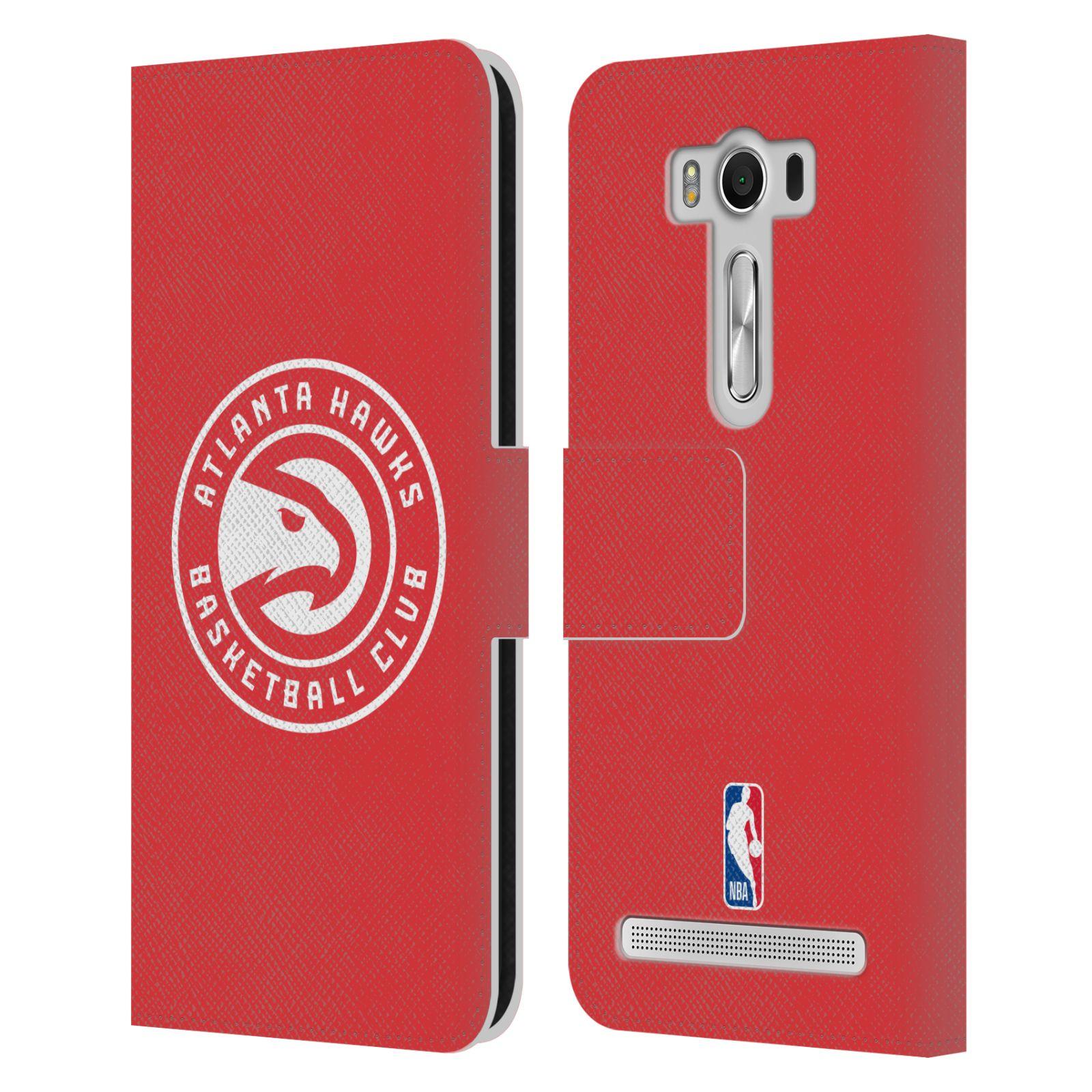 Pouzdro na mobil Asus Zenfone 2 Laser ZE500KL - Head Case -NBA - Atlanta Hawks červené znak
