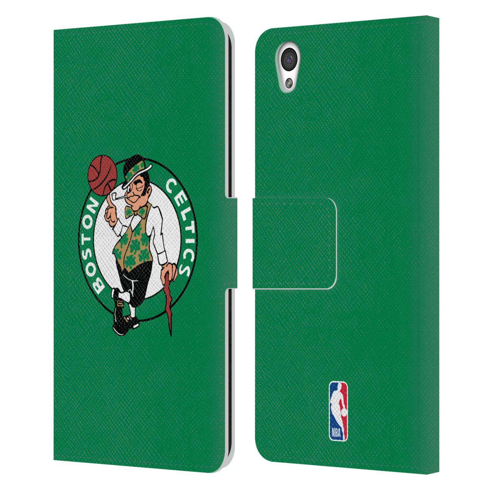 Pouzdro na mobil OnePlus X - Head Case - NBA - Boston Celtics zelená barva znak
