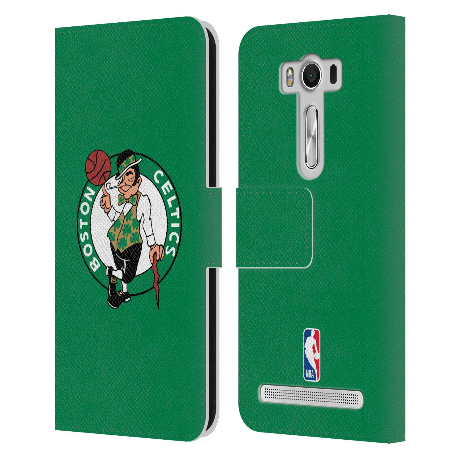 Pouzdro na mobil Asus Zenfone 2 Laser ZE500KL - Head Case - NBA - Boston Celtics zelená barva znak