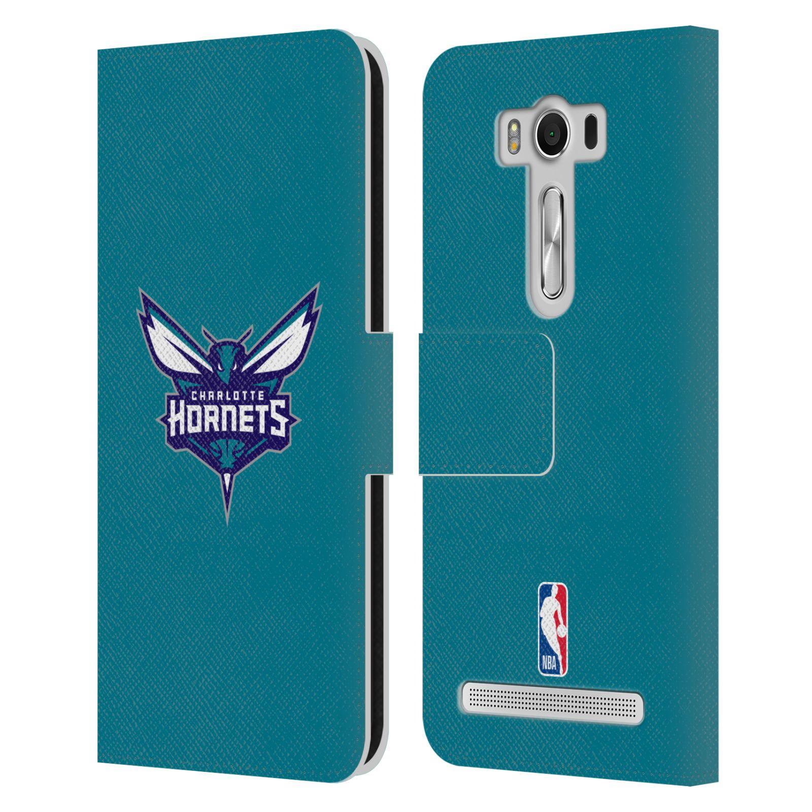 Pouzdro na mobil Asus Zenfone 2 Laser ZE500KL - Head Case -NBA - Charlotte Hornets modrá barva znak