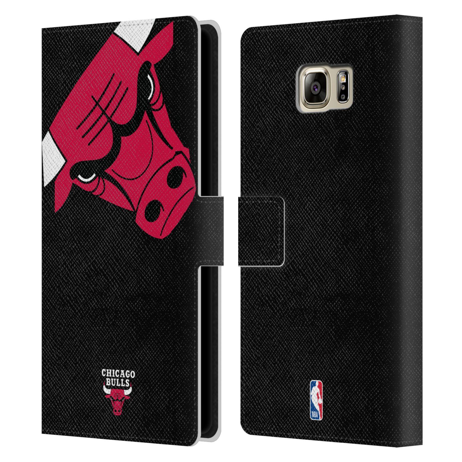 Pouzdro na mobil Samsung Galaxy NOTE 5 - Head Case -NBA - Chicago Bulls červená barva velký znak