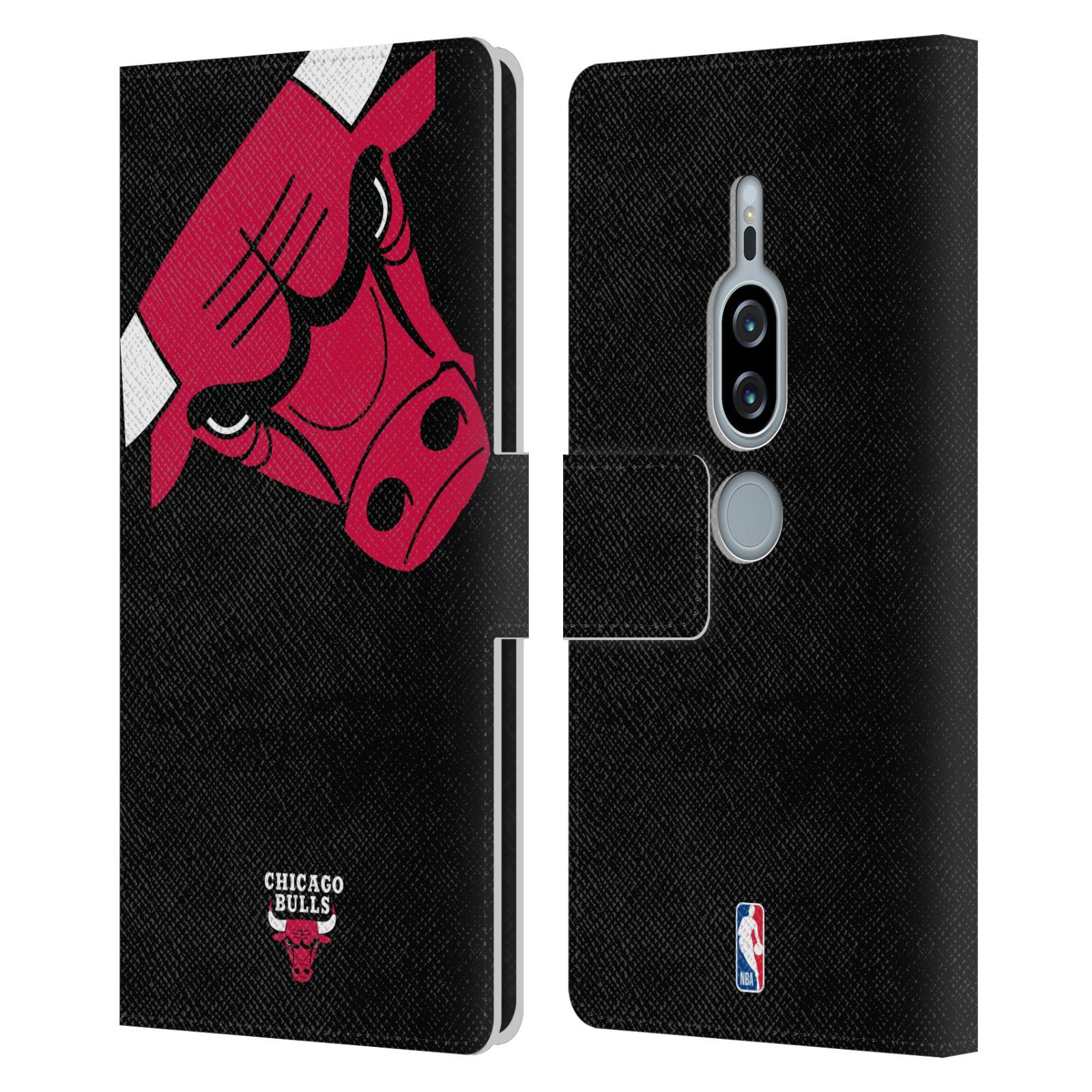 Pouzdro na mobil Sony Xperia XZ2 Premium - Head Case -NBA - Chicago Bulls červená barva velký znak