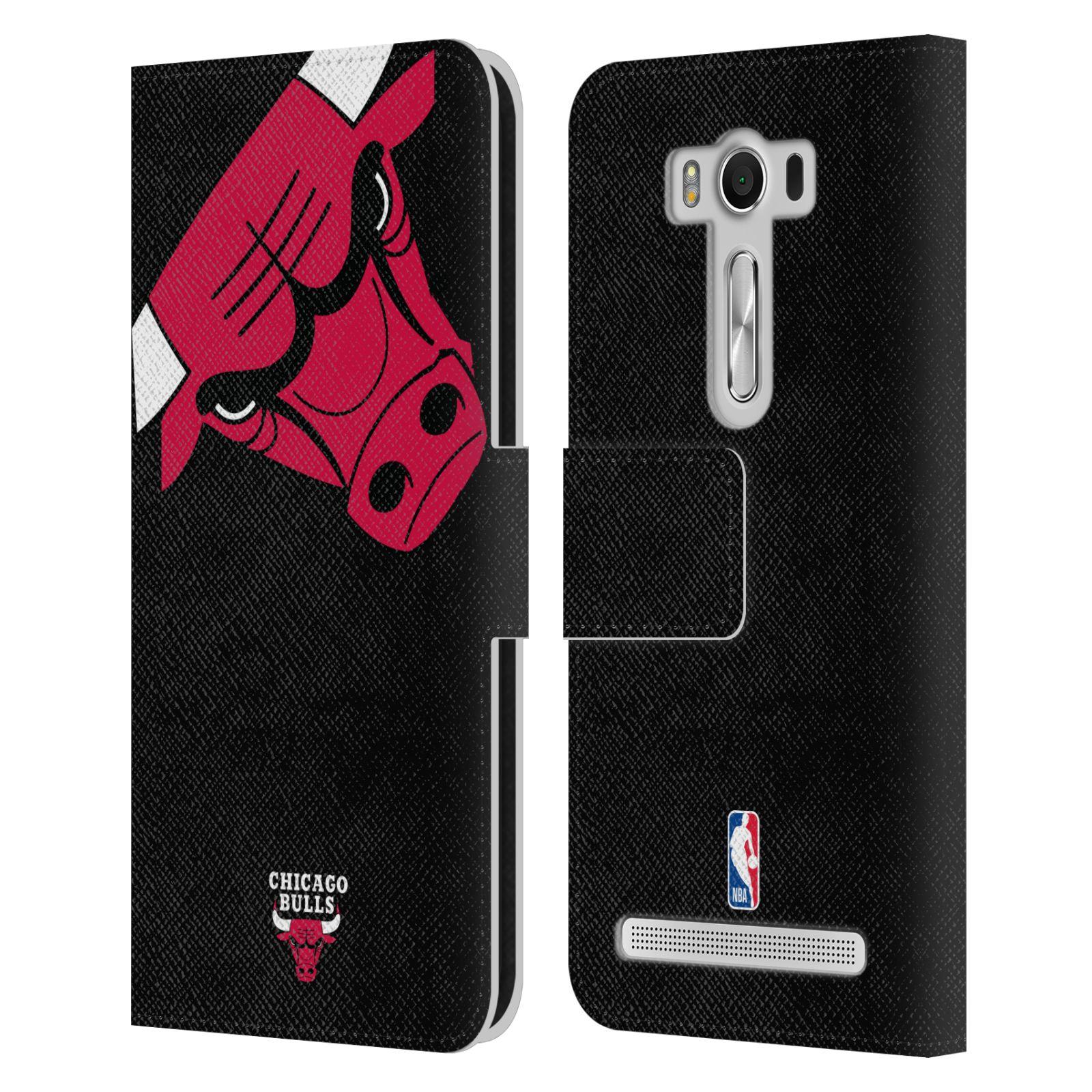 Pouzdro na mobil Asus Zenfone 2 Laser ZE500KL - Head Case -NBA - Chicago Bulls červená barva velký znak