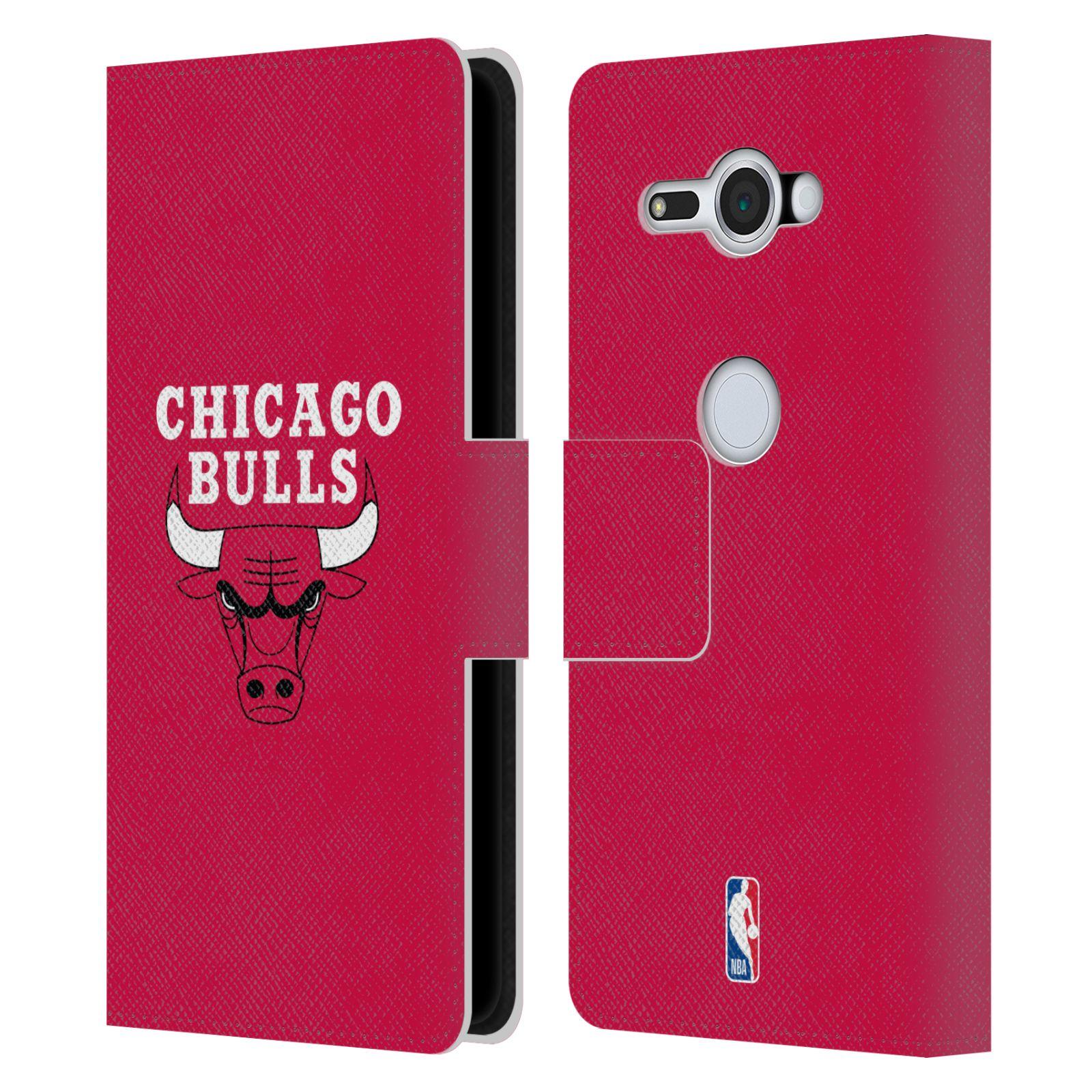 Pouzdro na mobil Sony Xperia XZ2 Compact - Head Case -NBA - Chicago Bulls červená barva znak