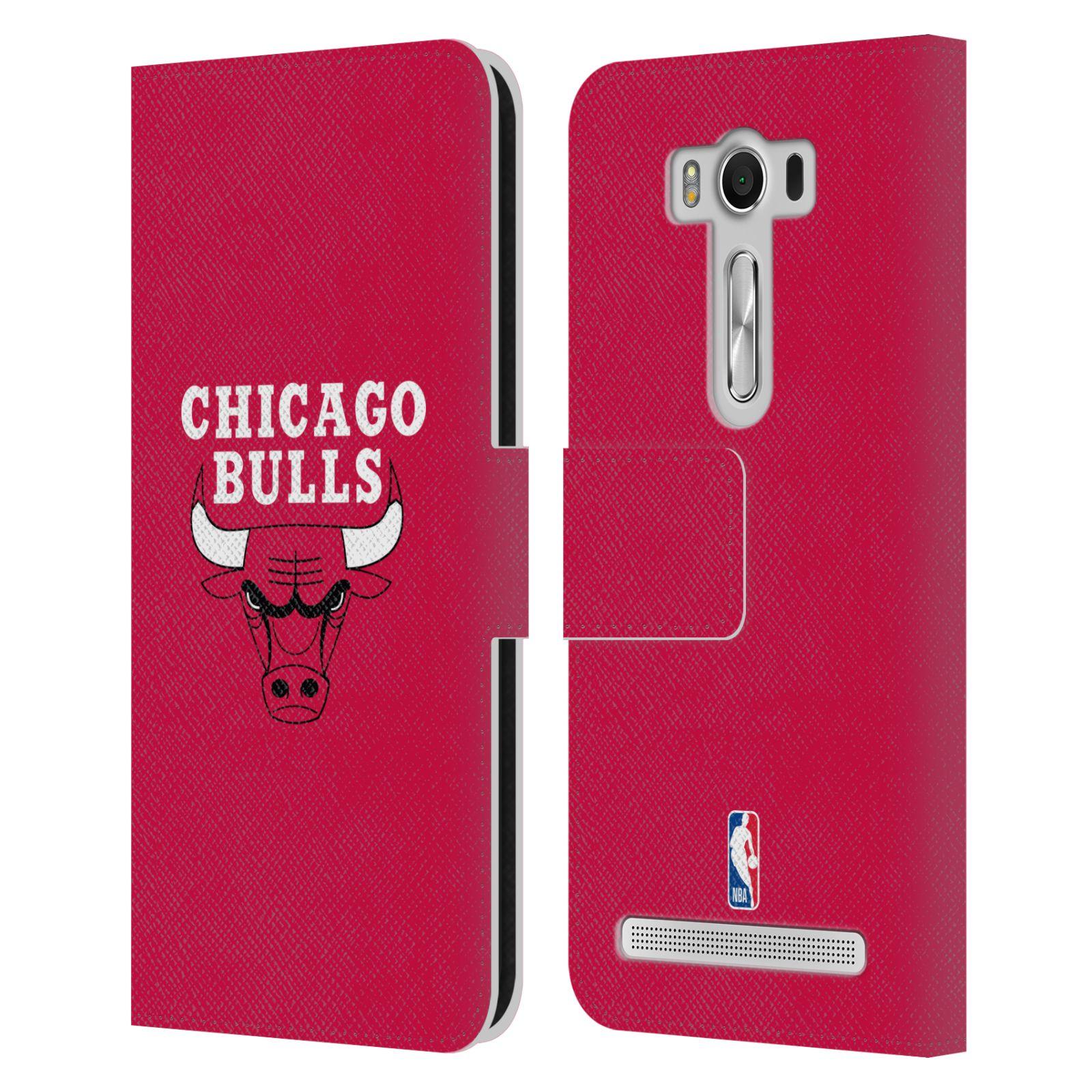 Pouzdro na mobil Asus Zenfone 2 Laser ZE500KL - Head Case -NBA - Chicago Bulls červená barva znak
