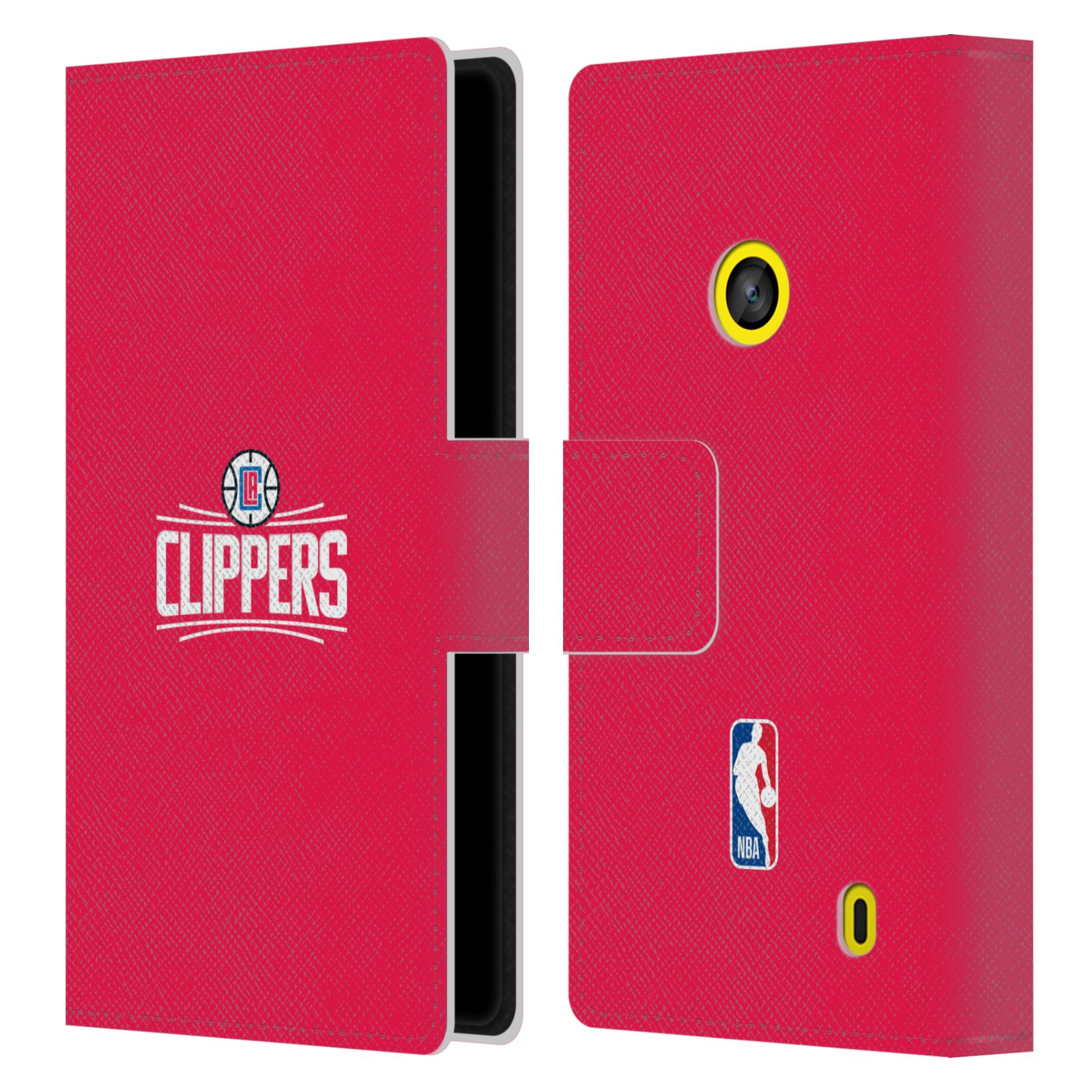 Pouzdro na mobil Nokia Lumia 520 - Head Case - NBA - LA Clippers