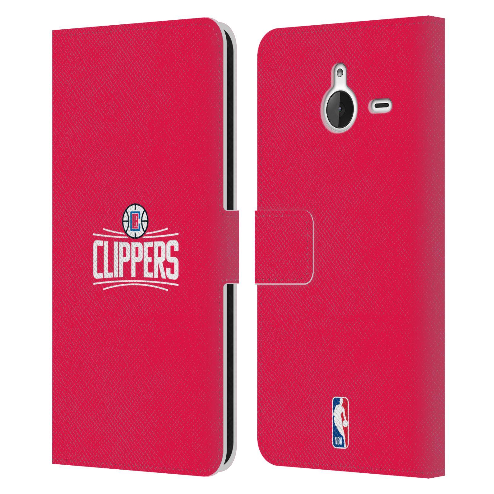 Pouzdro na mobil Nokia Lumia 640 XL - Head Case - NBA - LA Clippers