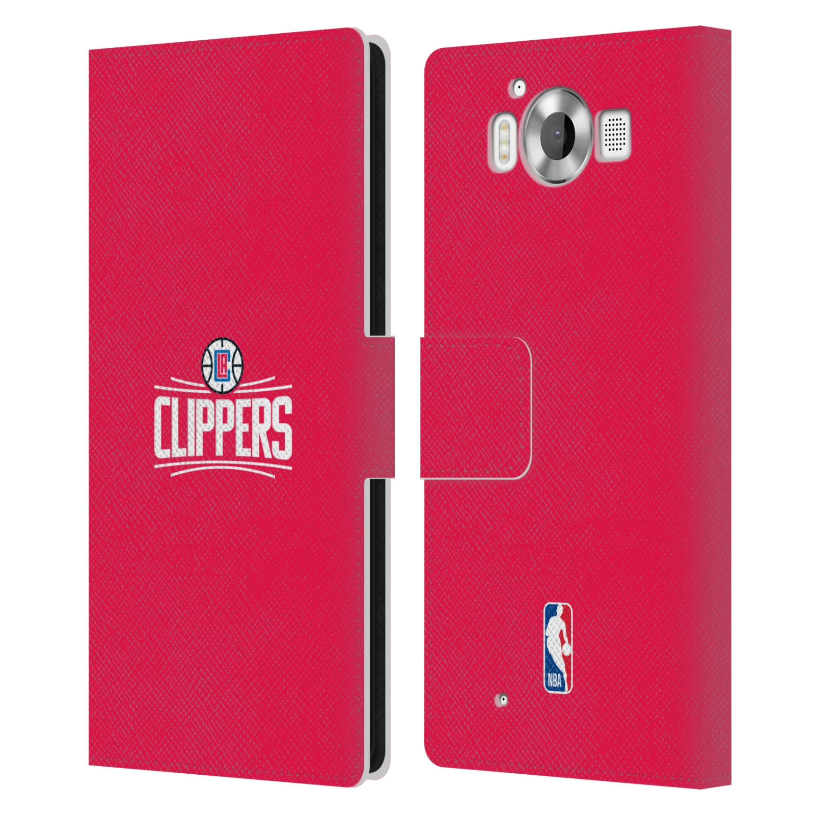 Pouzdro na mobil Nokia Lumia 950 - Head Case - NBA - LA Clippers