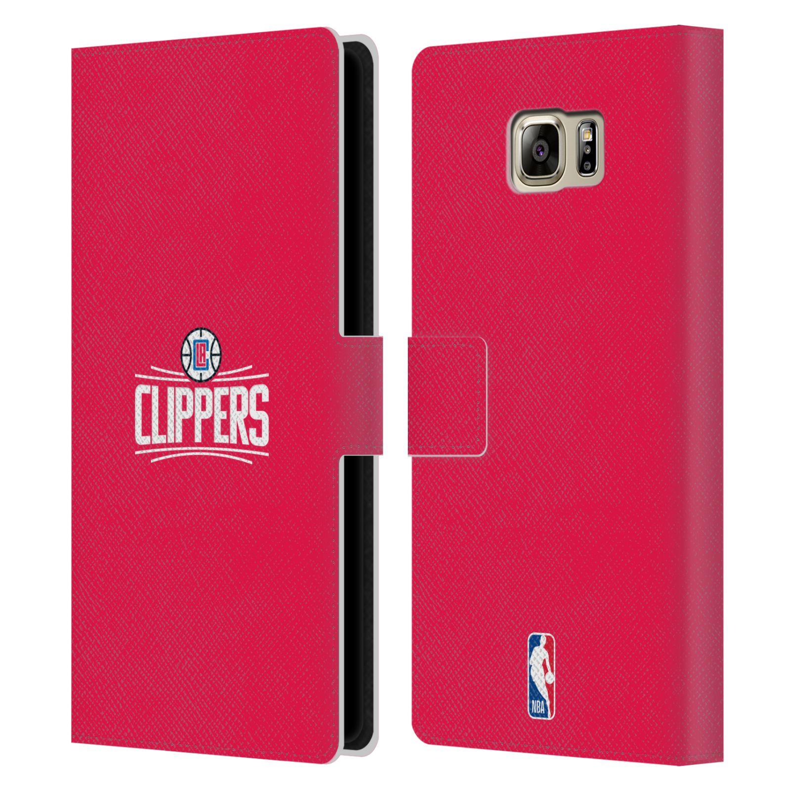 Pouzdro na mobil Samsung Galaxy NOTE 5 - Head Case - NBA - LA Clippers