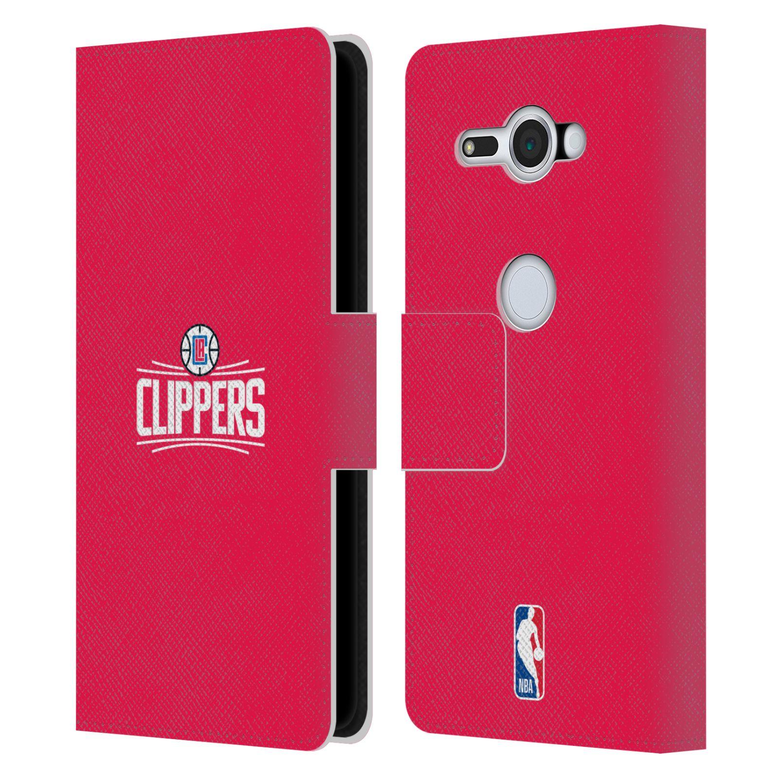 Pouzdro na mobil Sony Xperia XZ2 Compact - Head Case - NBA - LA Clippers