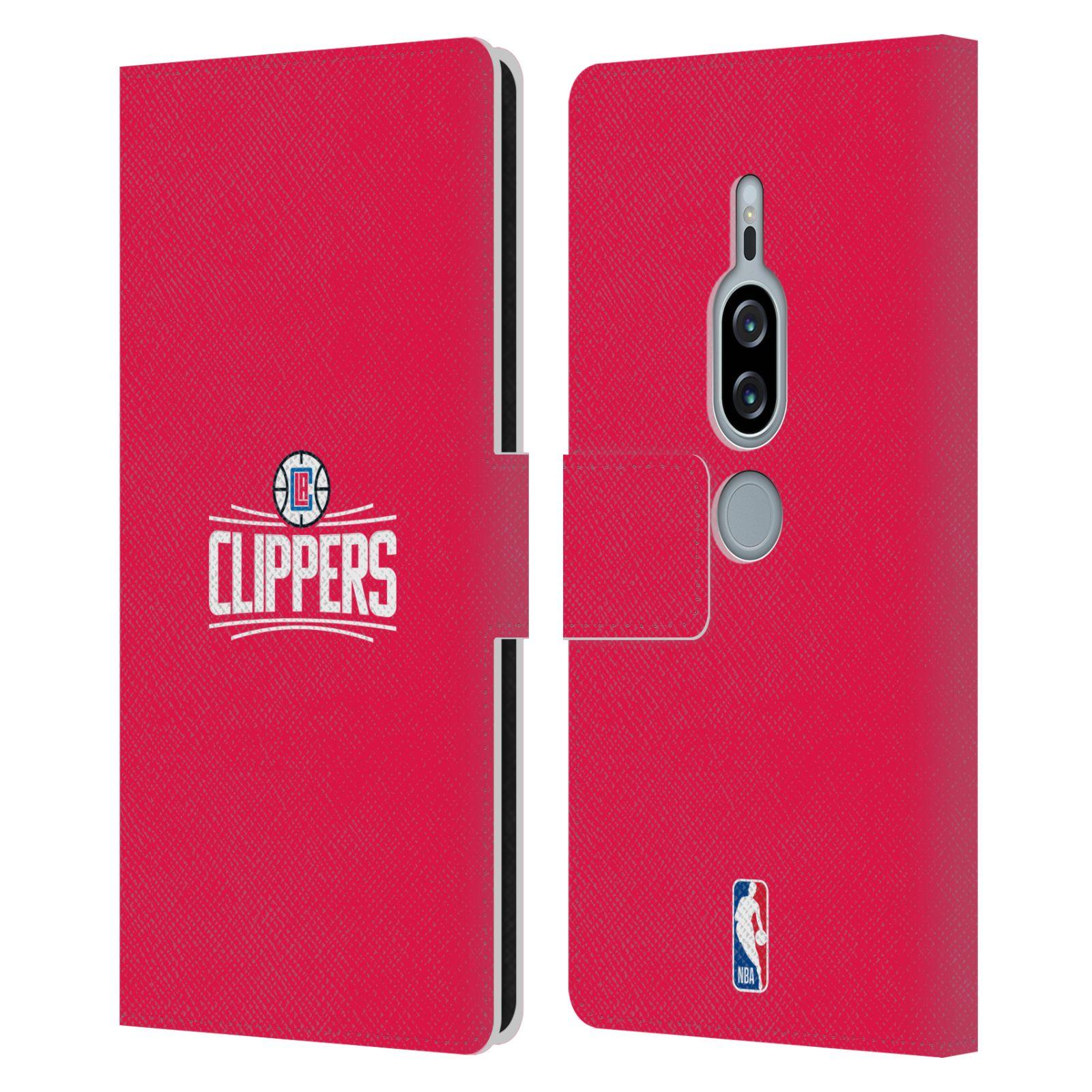Pouzdro na mobil Sony Xperia XZ2 Premium - Head Case - NBA - LA Clippers