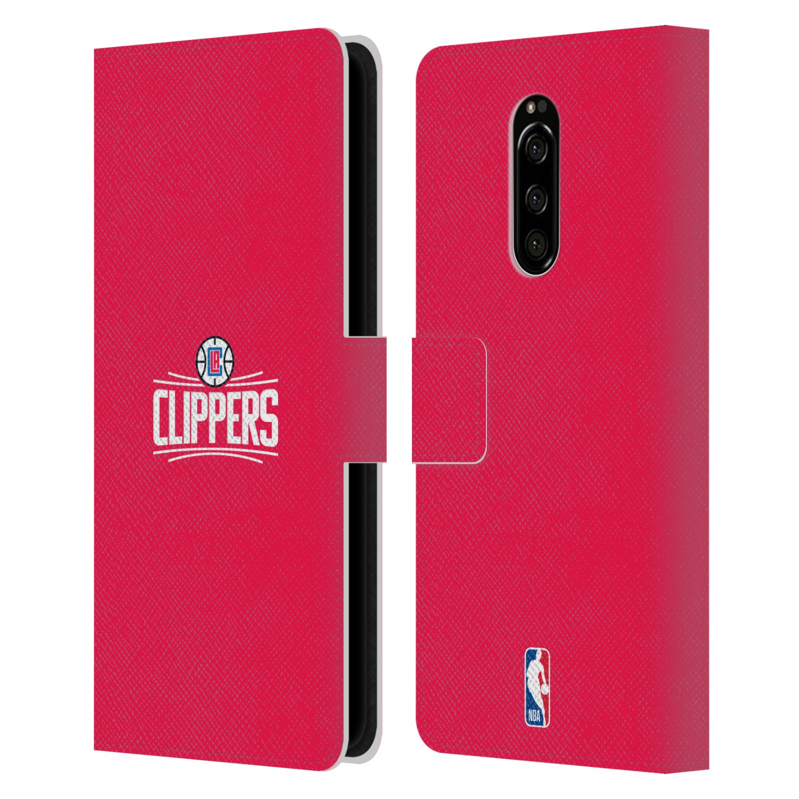 Pouzdro na mobil Sony Xperia 1 - Head Case - NBA - LA Clippers
