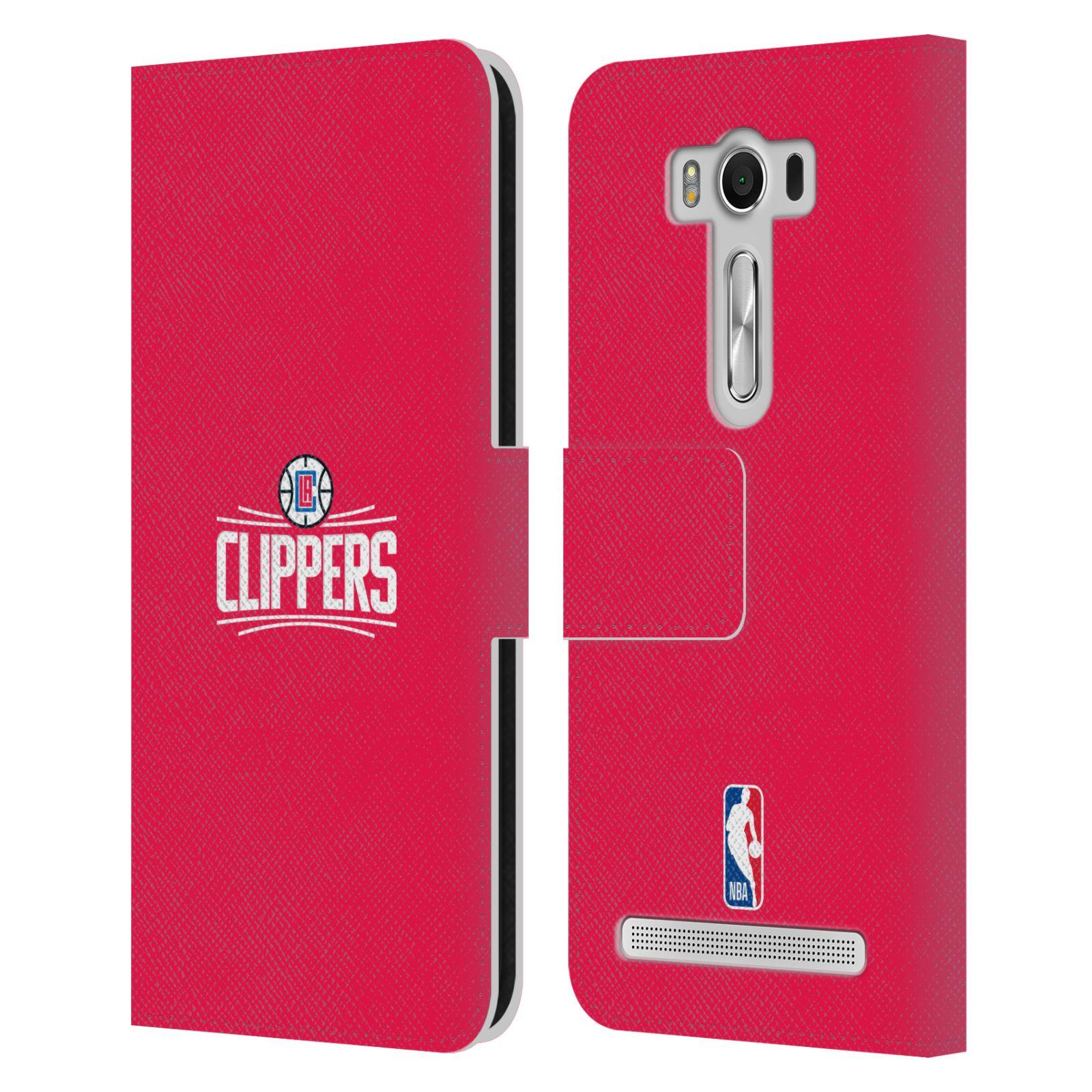 Pouzdro na mobil Asus Zenfone 2 Laser ZE500KL - Head Case - NBA - LA Clippers