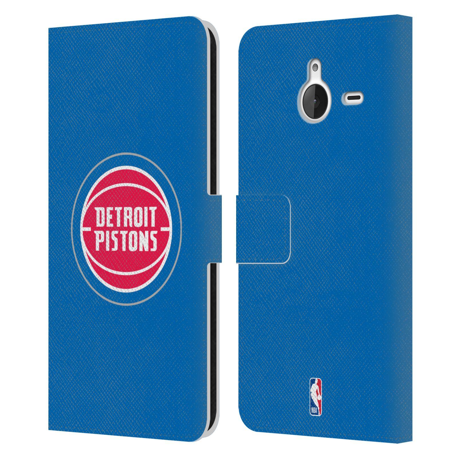 Pouzdro na mobil Nokia Lumia 640 XL - Head Case -NBA - Detroit Pistons logo