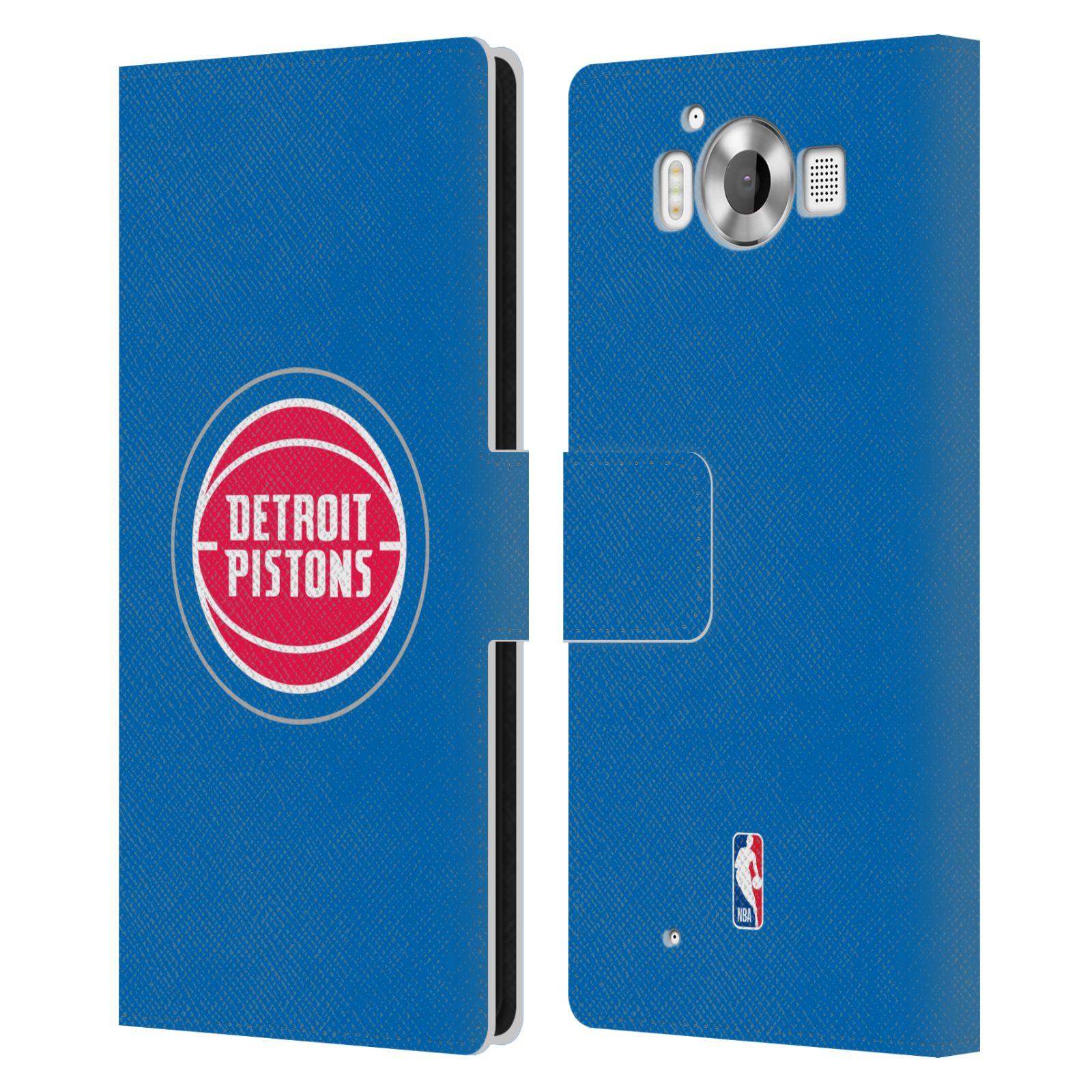 Pouzdro na mobil Nokia Lumia 950 - Head Case -NBA - Detroit Pistons logo