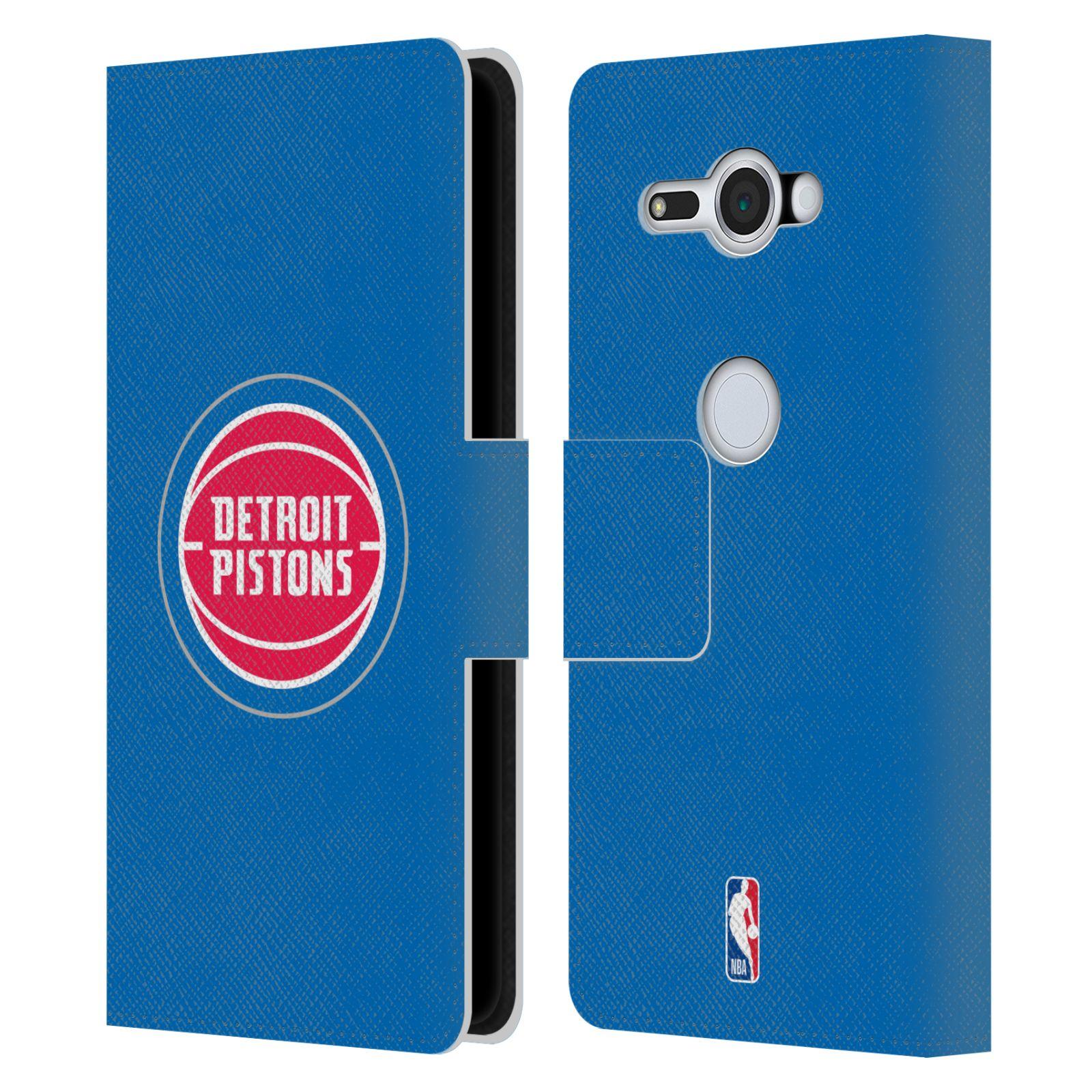 Pouzdro na mobil Sony Xperia XZ2 Compact - Head Case -NBA - Detroit Pistons logo