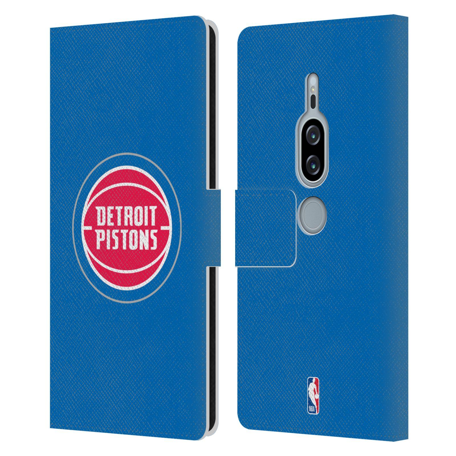 Pouzdro na mobil Sony Xperia XZ2 Premium - Head Case -NBA - Detroit Pistons logo