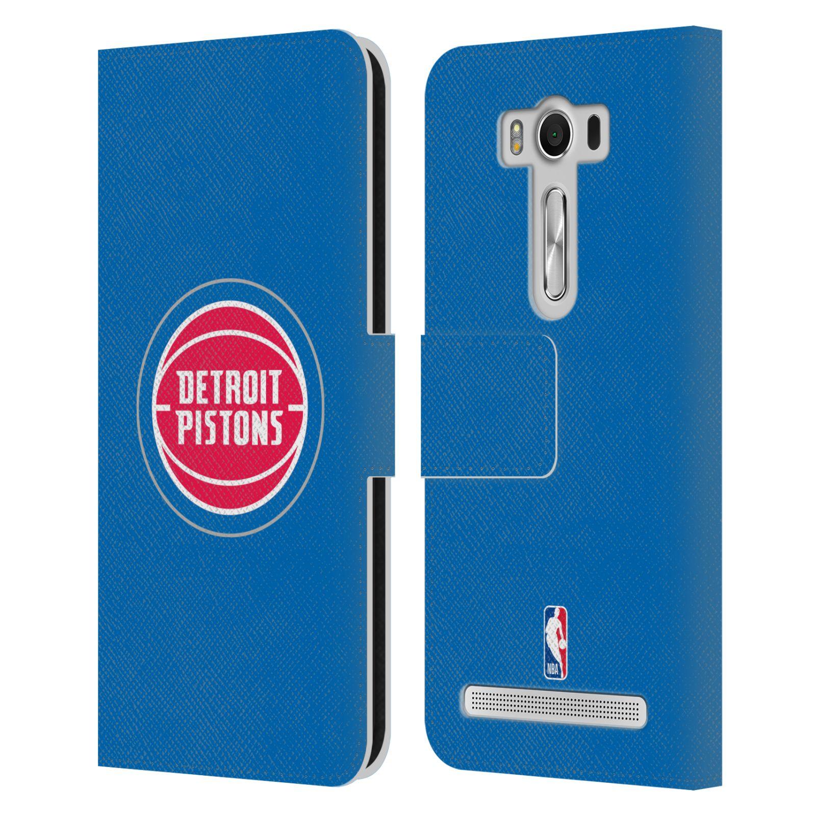 Pouzdro na mobil Asus Zenfone 2 Laser ZE500KL - Head Case -NBA - Detroit Pistons logo
