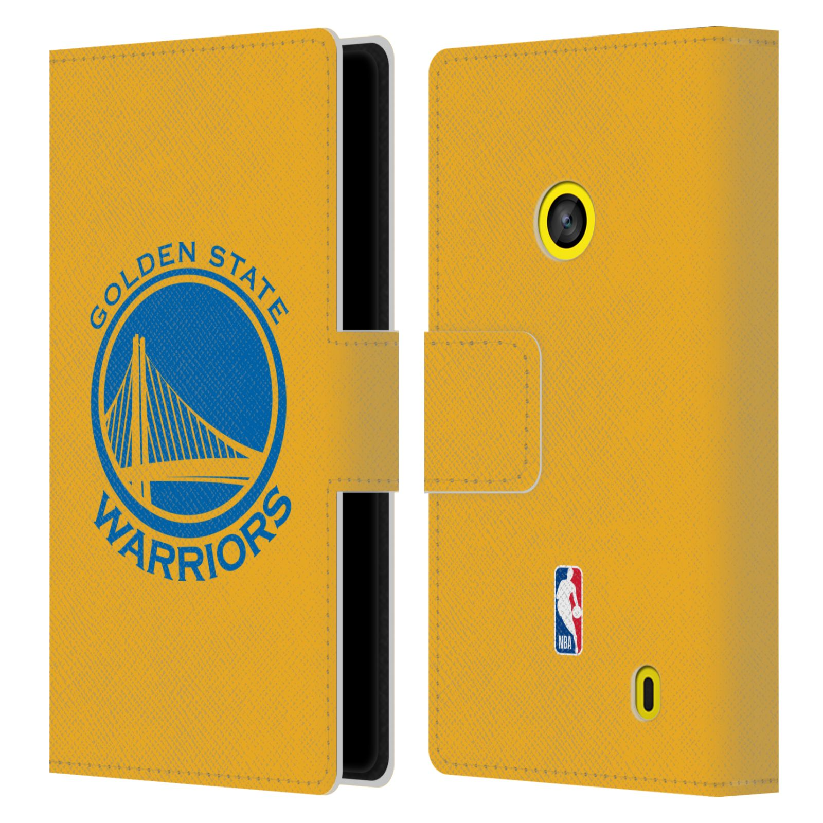 Pouzdro na mobil Nokia Lumia 520 - Head Case -NBA - Golden State Warriors