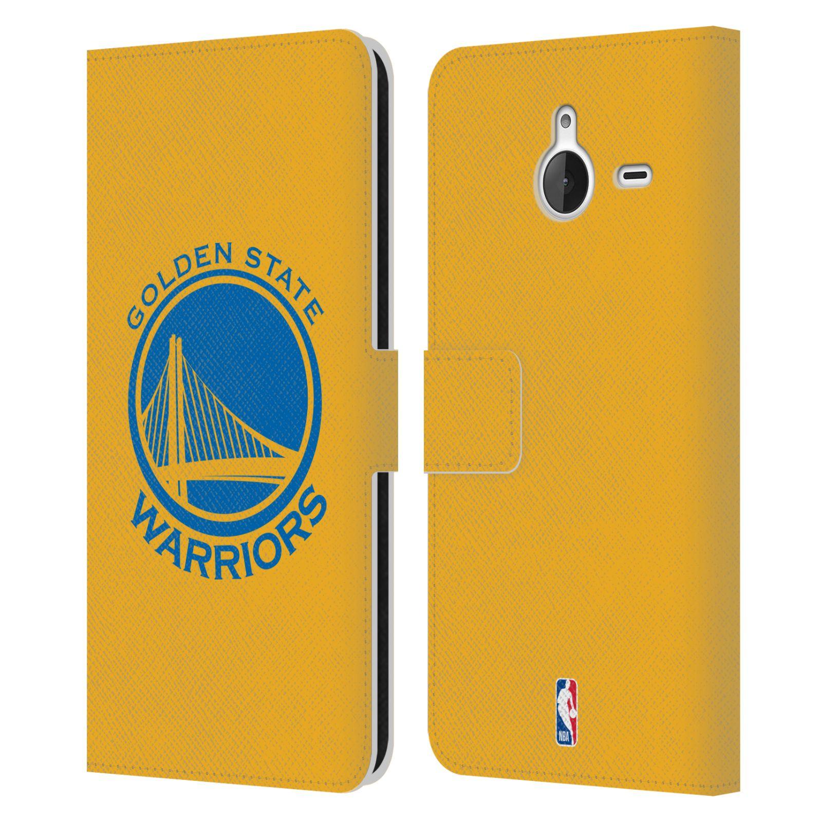 Pouzdro na mobil Nokia Lumia 640 XL - Head Case -NBA - Golden State Warriors