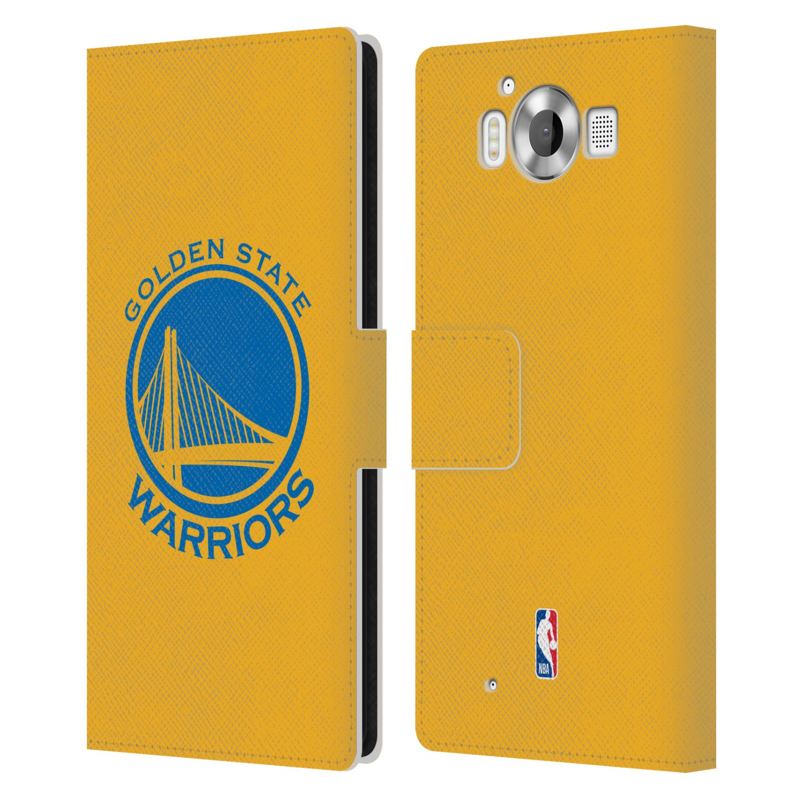 Pouzdro na mobil Nokia Lumia 950 - Head Case -NBA - Golden State Warriors