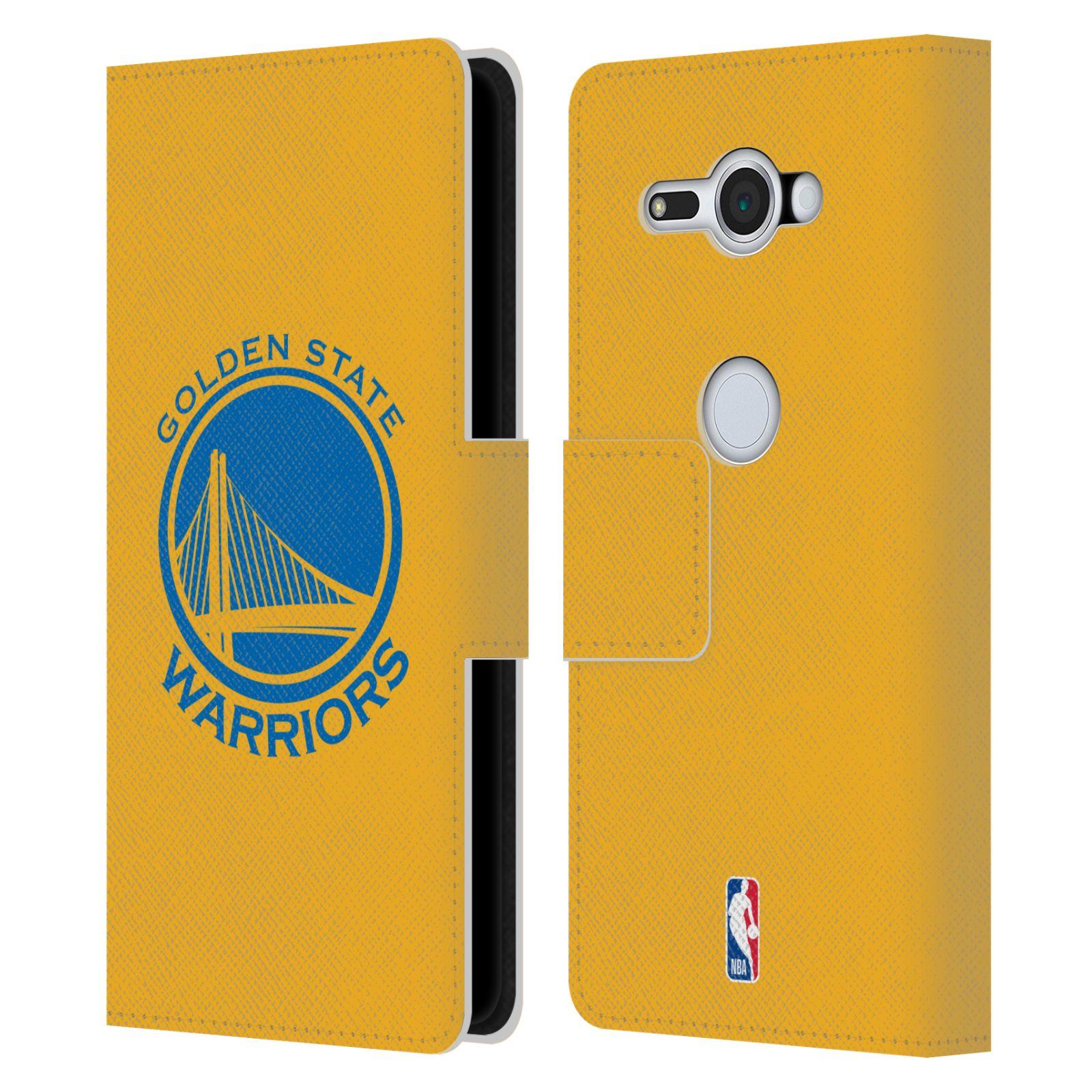 Pouzdro na mobil Sony Xperia XZ2 Compact - Head Case -NBA - Golden State Warriors