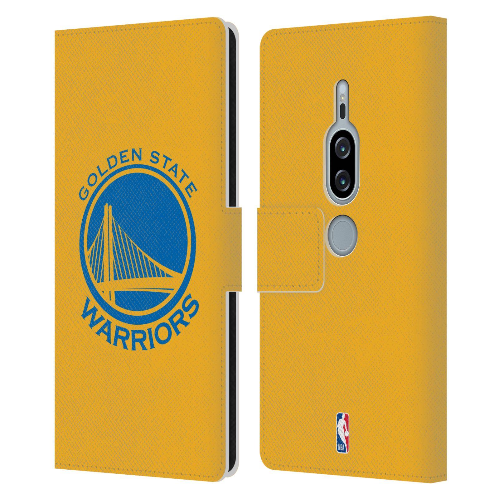 Pouzdro na mobil Sony Xperia XZ2 Premium - Head Case -NBA - Golden State Warriors