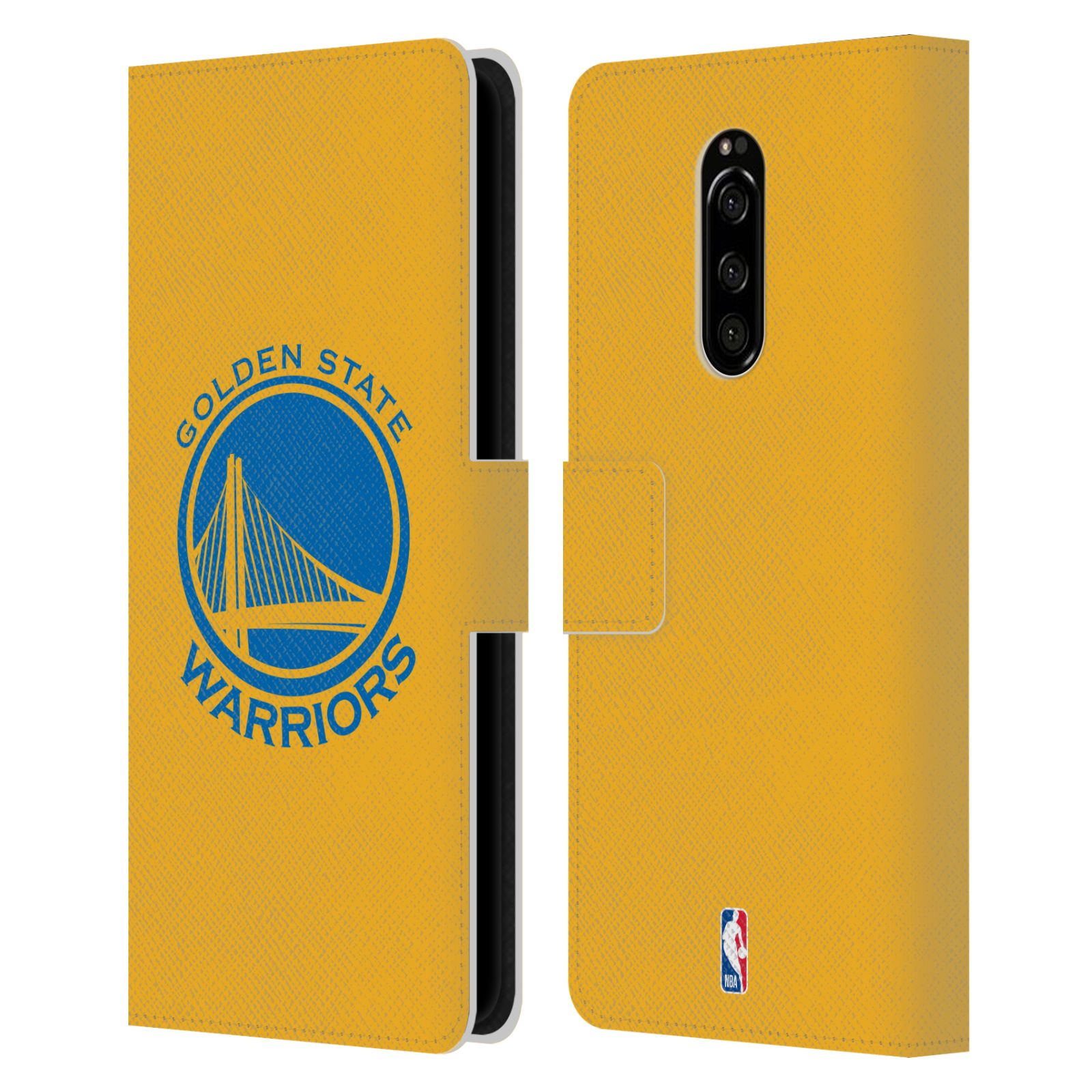 Pouzdro na mobil Sony Xperia 1 - Head Case -NBA - Golden State Warriors