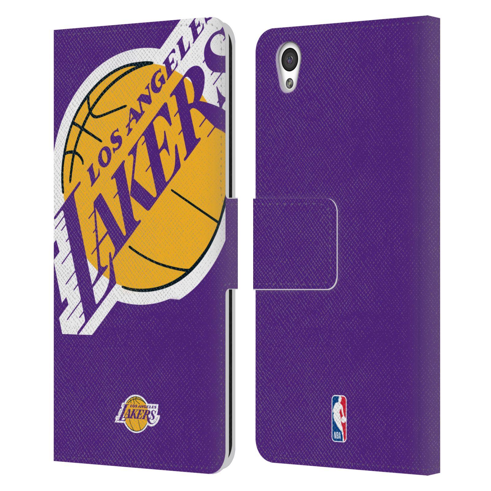 Pouzdro na mobil OnePlus X - Head Case - NBA - Los Angeles Lakers velký znak