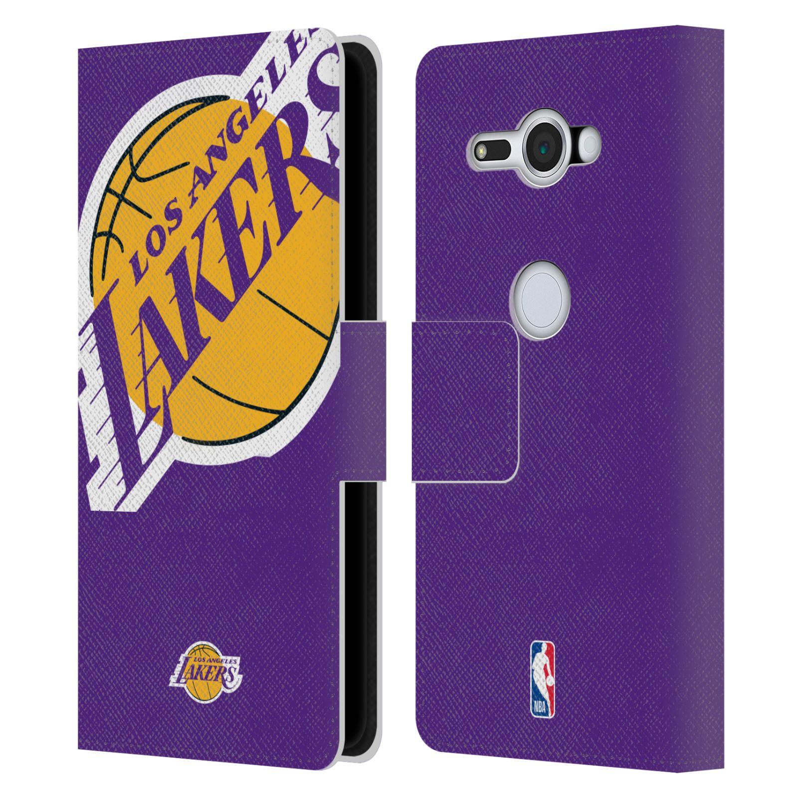 Pouzdro na mobil Sony Xperia XZ2 Compact - Head Case - NBA - Los Angeles Lakers velký znak