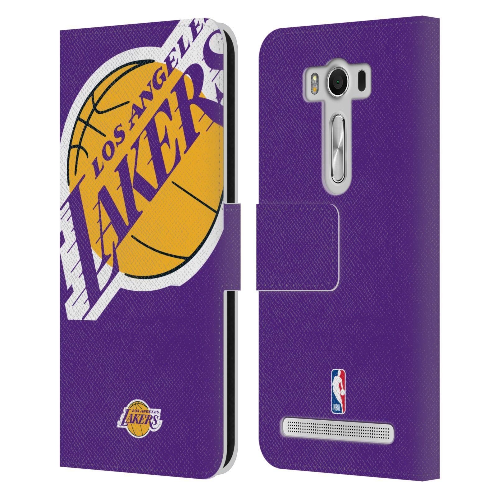 Pouzdro na mobil Asus Zenfone 2 Laser ZE500KL - Head Case - NBA - Los Angeles Lakers velký znak