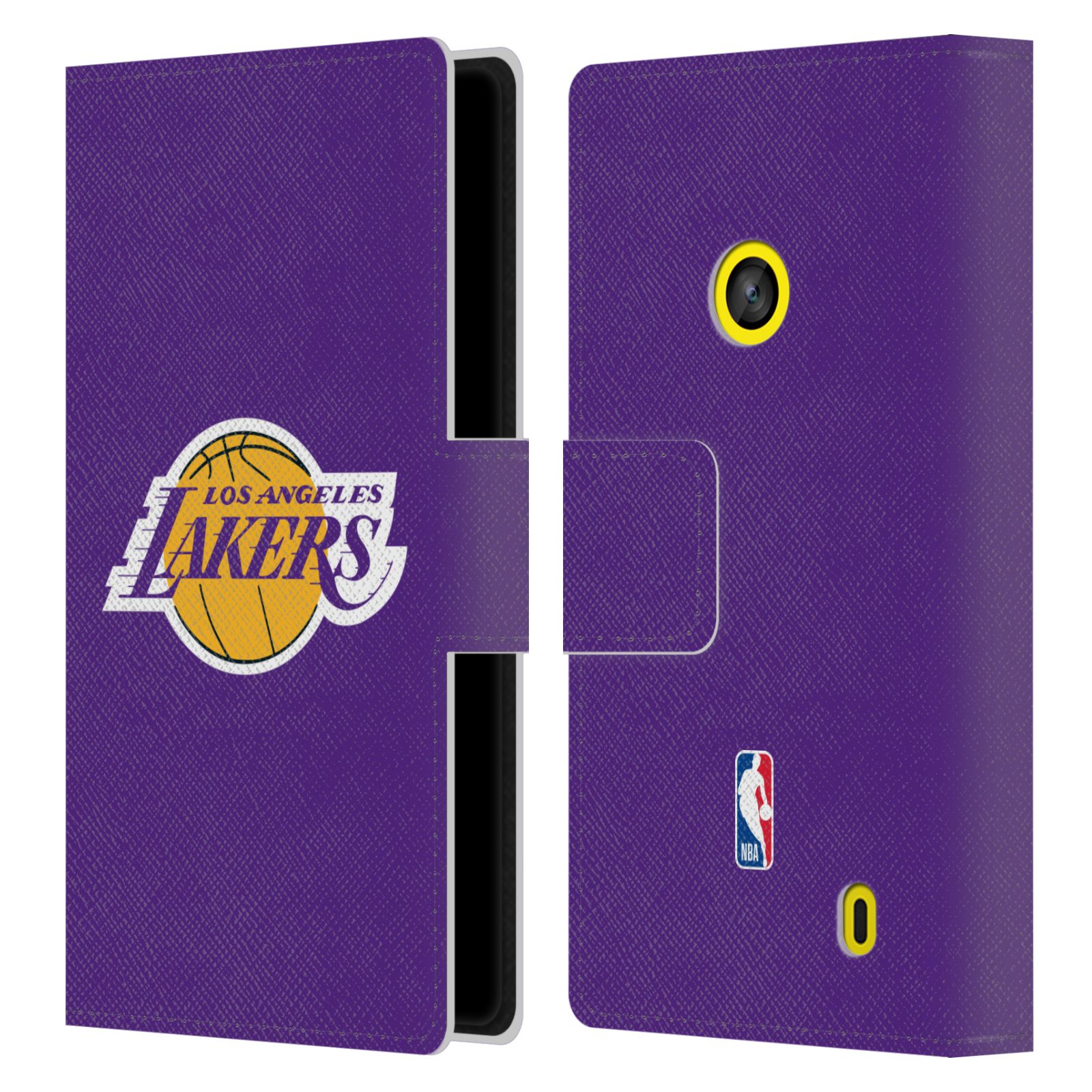 Pouzdro na mobil Nokia Lumia 520 - Head Case - NBA - Los Angeles Lakers